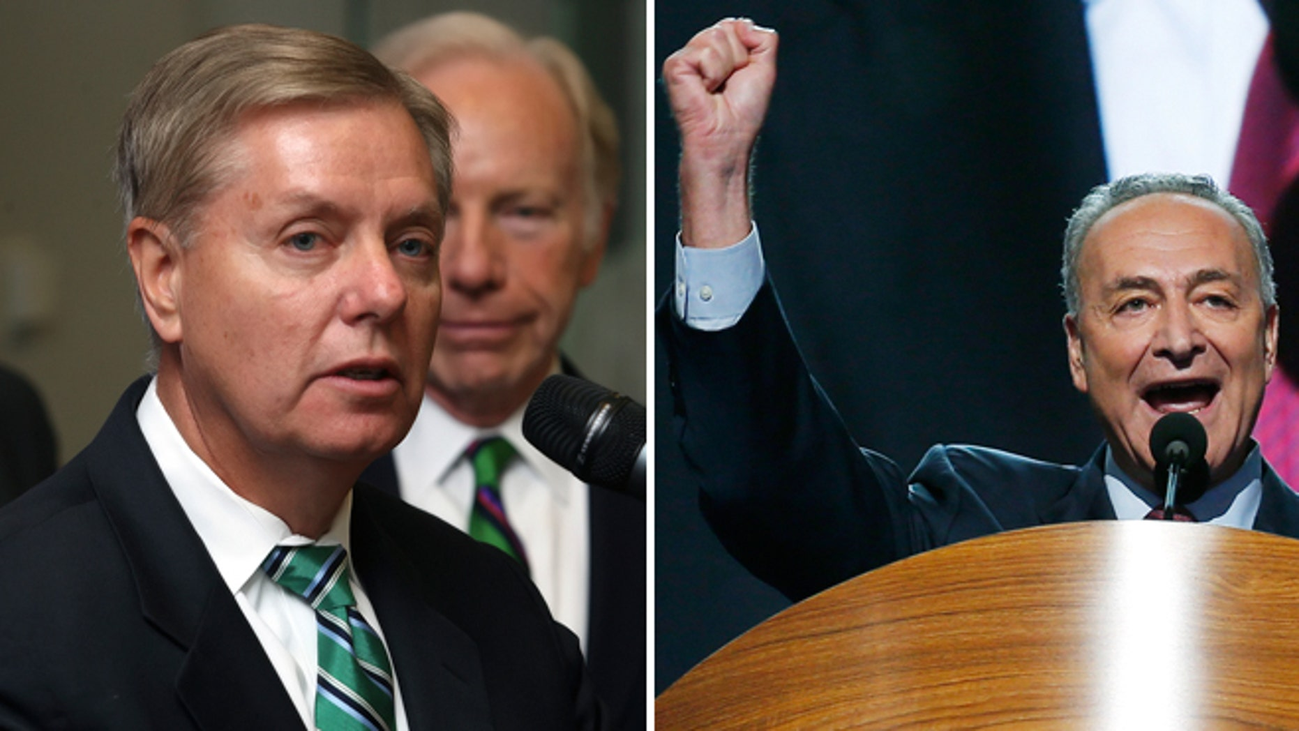 FILE: 2012: Sens. Lindsey Graham, R-S.C., and Chuck Schumer, D-N.Y., presented plans in comprehensive immigration reform days after the Nov. 6 election.