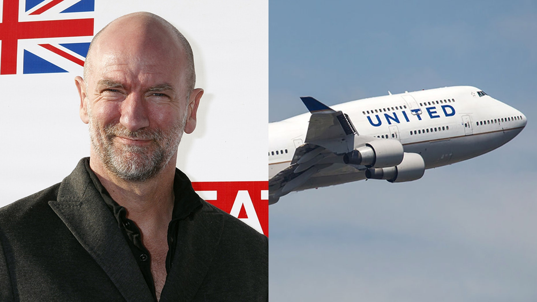 """Scottish actor Graham McTavish claims to have overheard his """"rude"""" United crew making insensitive jokes in the wake of a recent incident."""