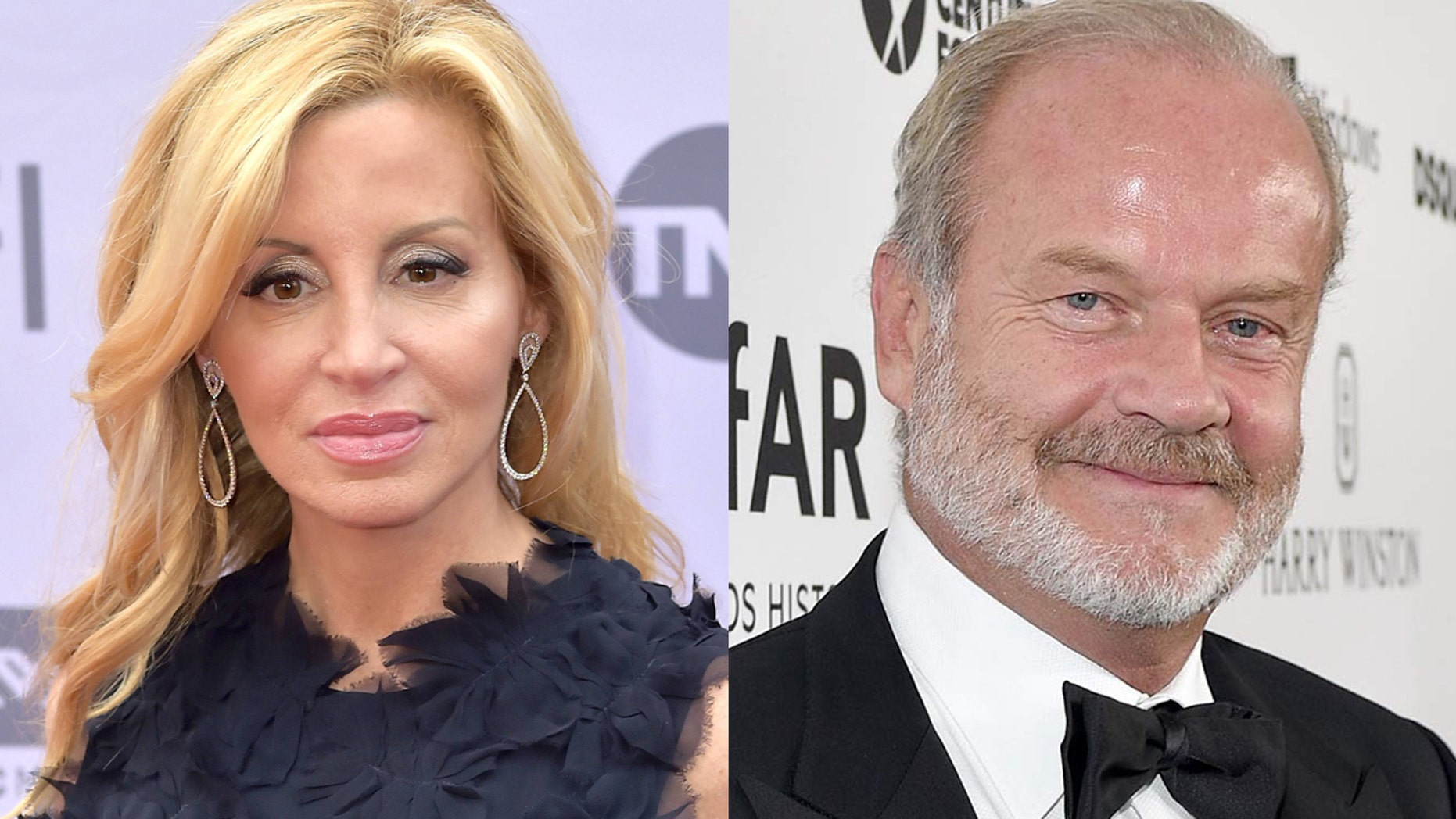 """Camille Grammar has opened up about her split from ex-husband Kelsey Grammar admitting that during their marriage, the star acted like she """"didn't exist."""""""