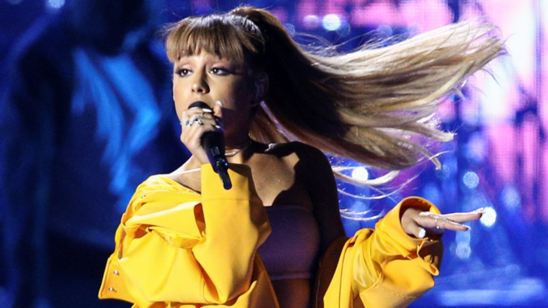 Ariana Grande's mother helped bring some fans backstage after a suicide bomber struck the Manchester arena her daughter was performing in on Monday.