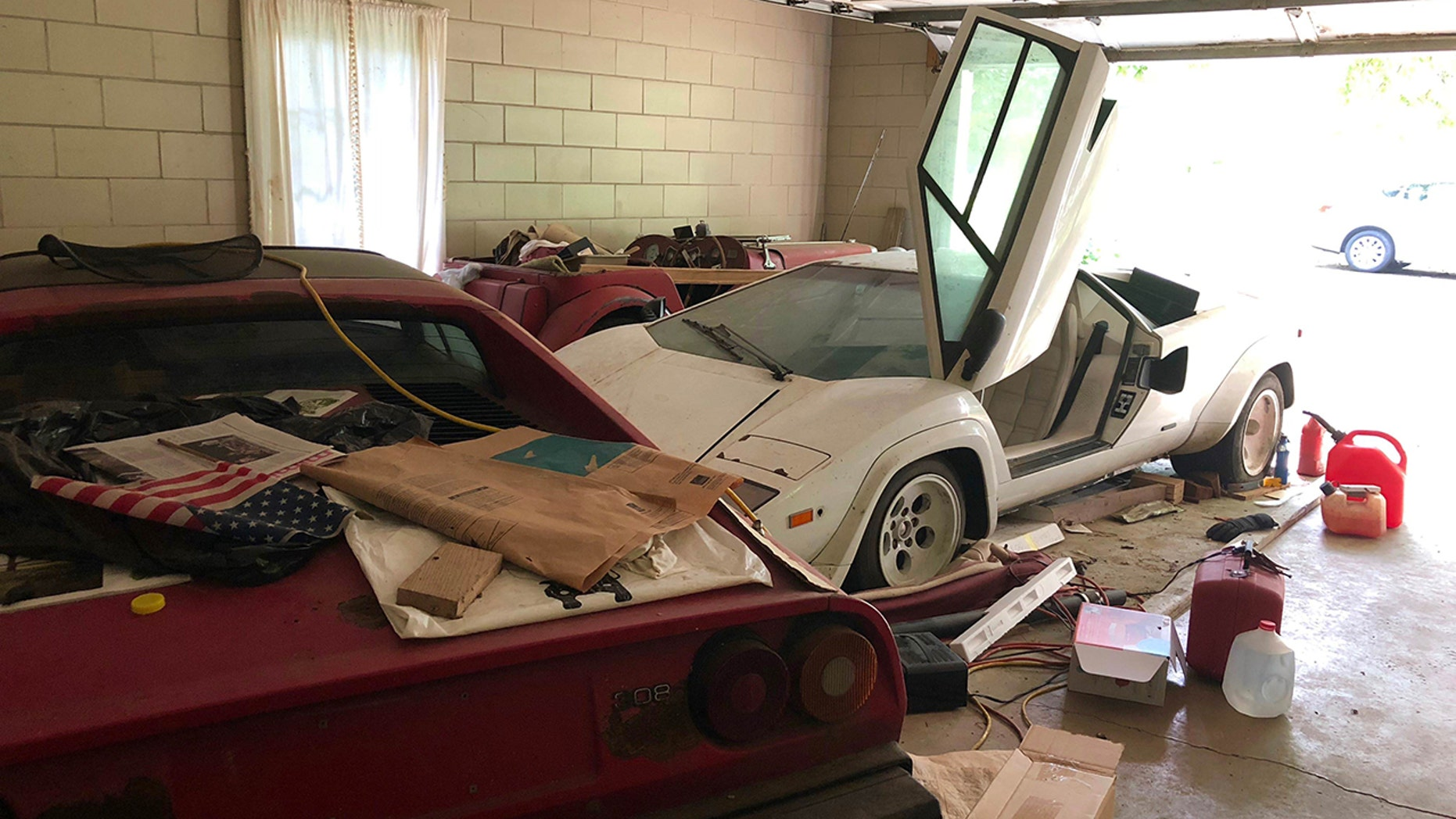 Woman Uncovers Amazing Exotic Car Collection In Grandmother S Garage