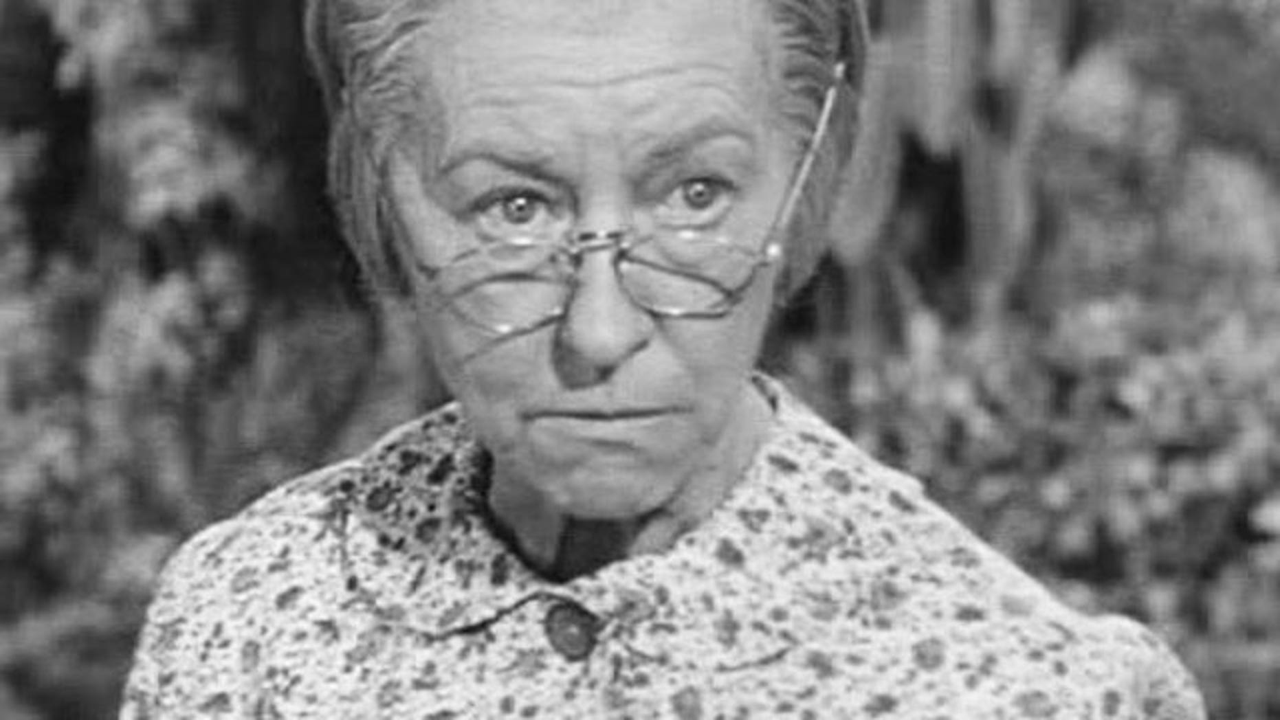 Irene Ryan played a tough OLD Granny on 'The Beverly Hillbillies' in the 1960s.