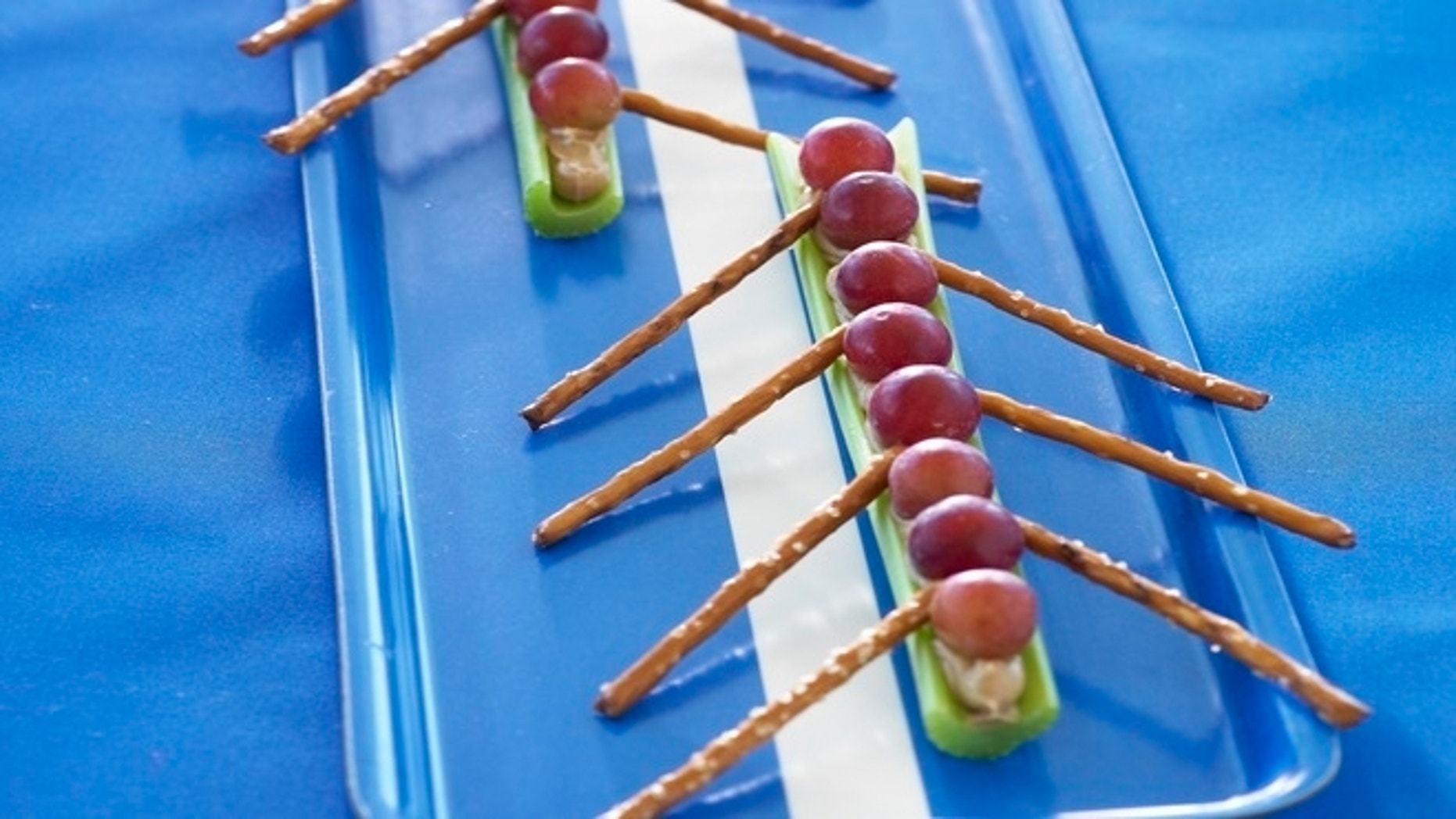 Grapes in a Canoe is a classic and easy-to-make snack.