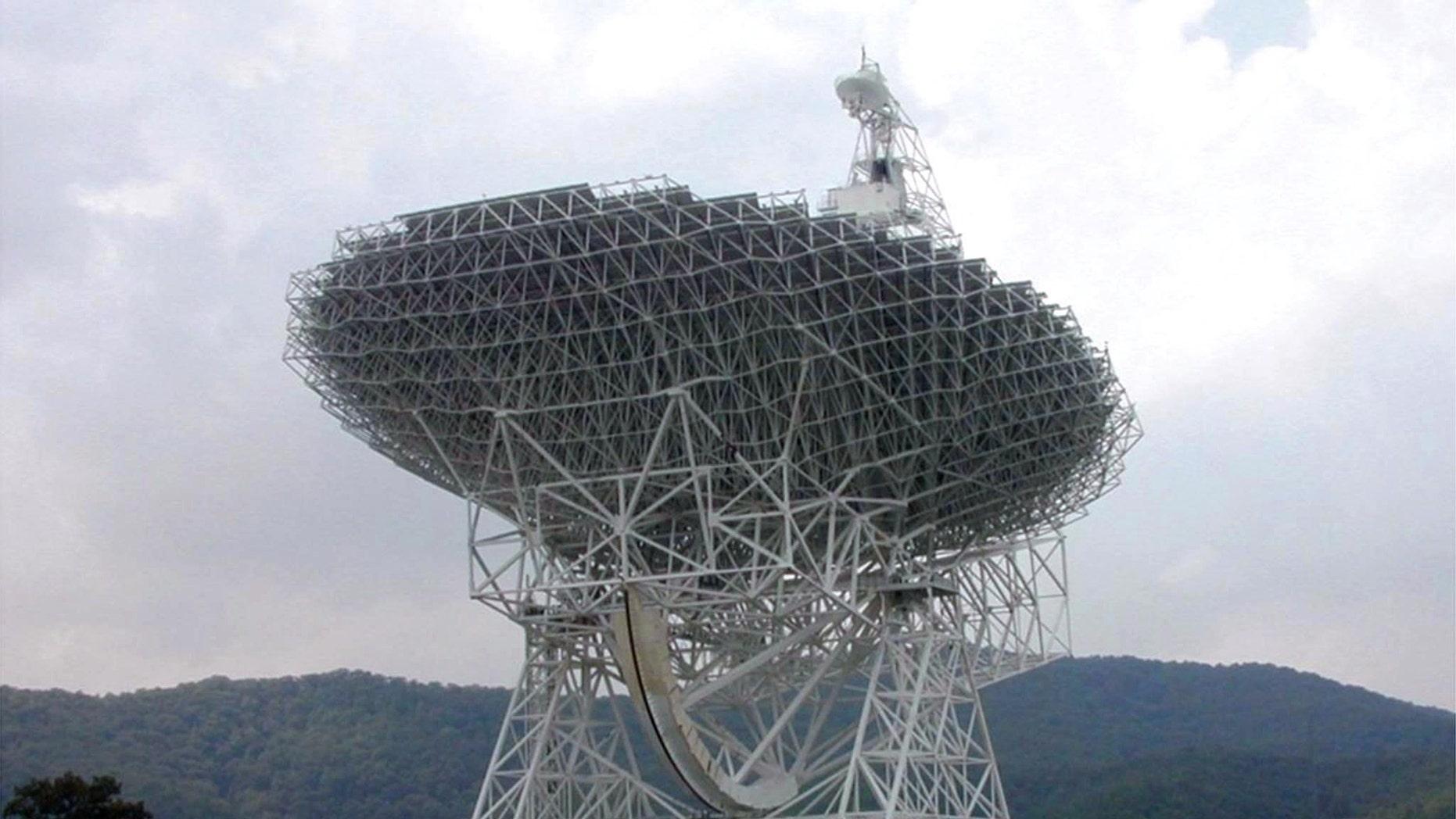File photo - Green Bank Telescope (REUTERS/NRAO/AUI-Handout)