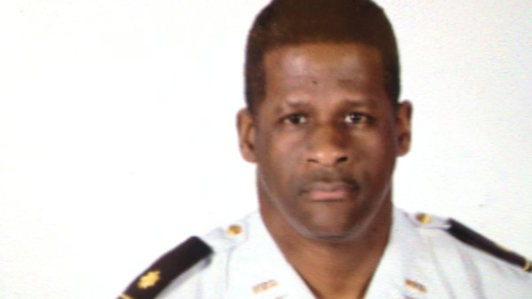 Maj. Greg Barney.