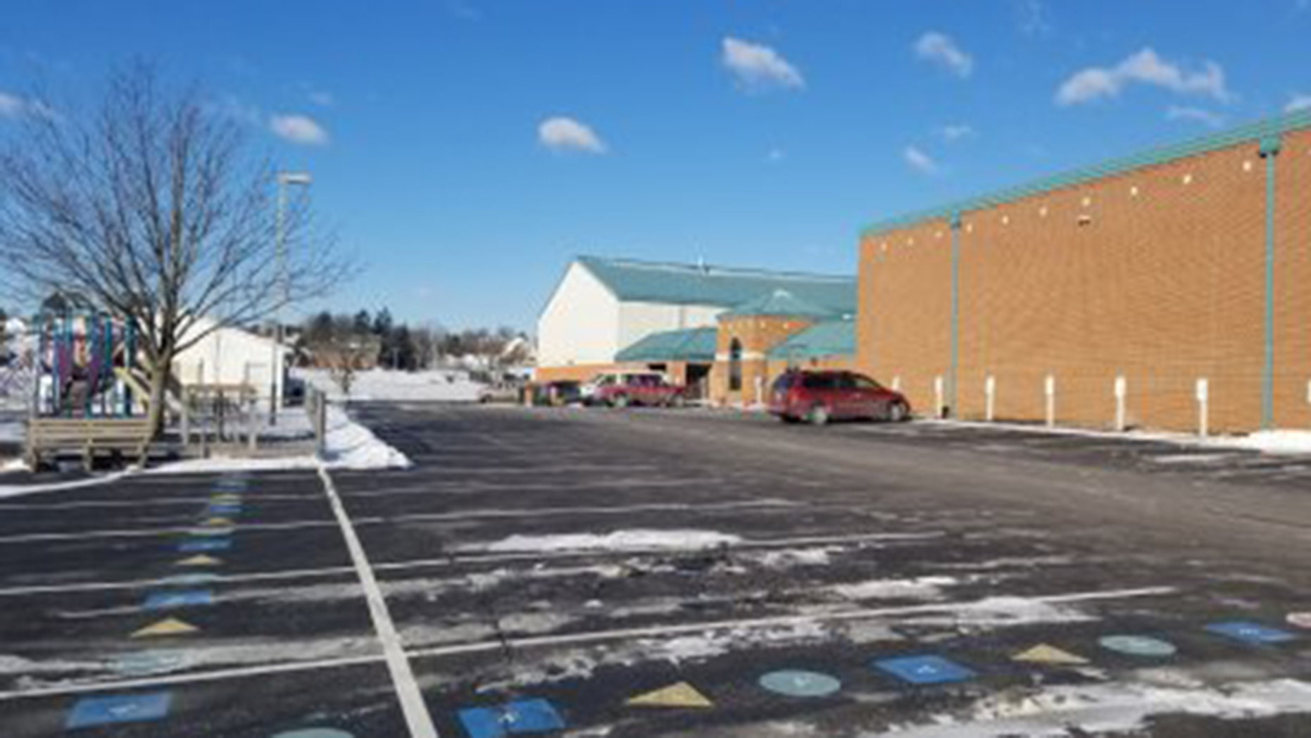 Police say a Northern York County Regional Police officer came across a suspicious vehicle in the parking lot of Stillmeadow Church of the Nazarene in Manchester Township around 3:00 a.m. Saturday.