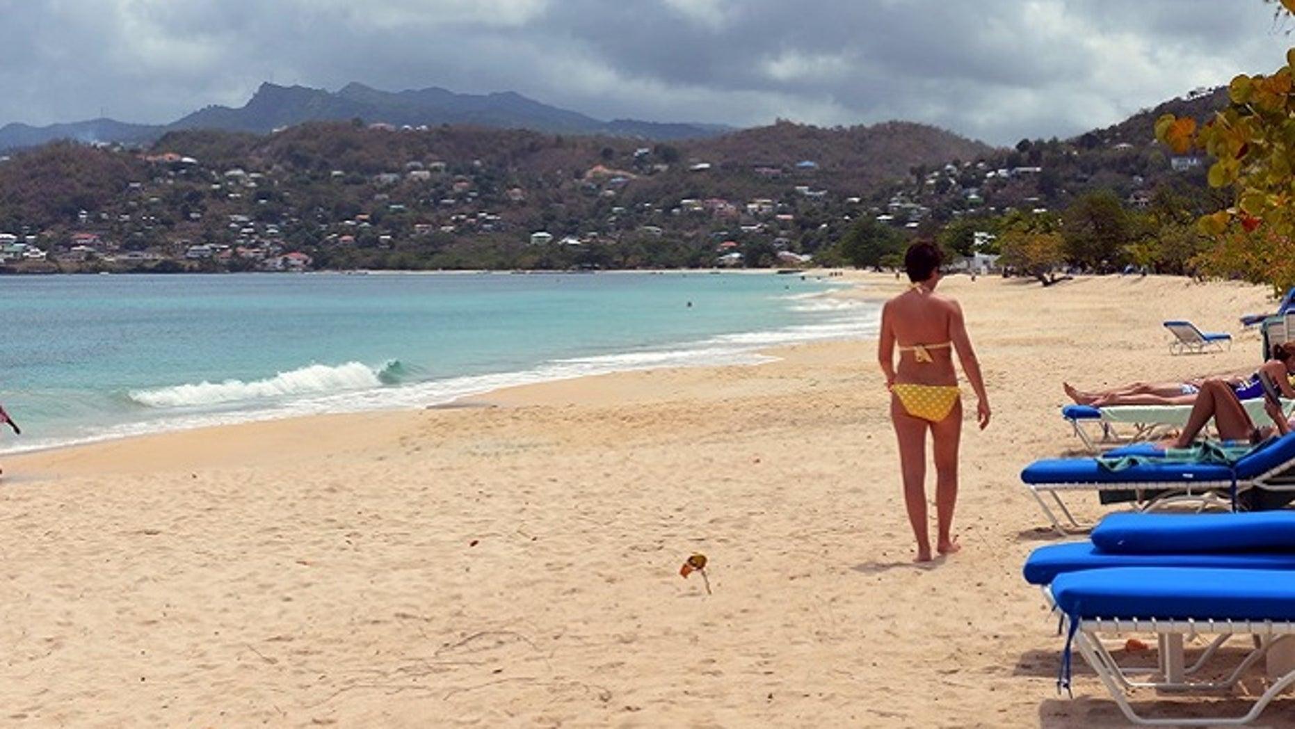 A Grenada beach in 2013. (AP Photo/David McFadden)