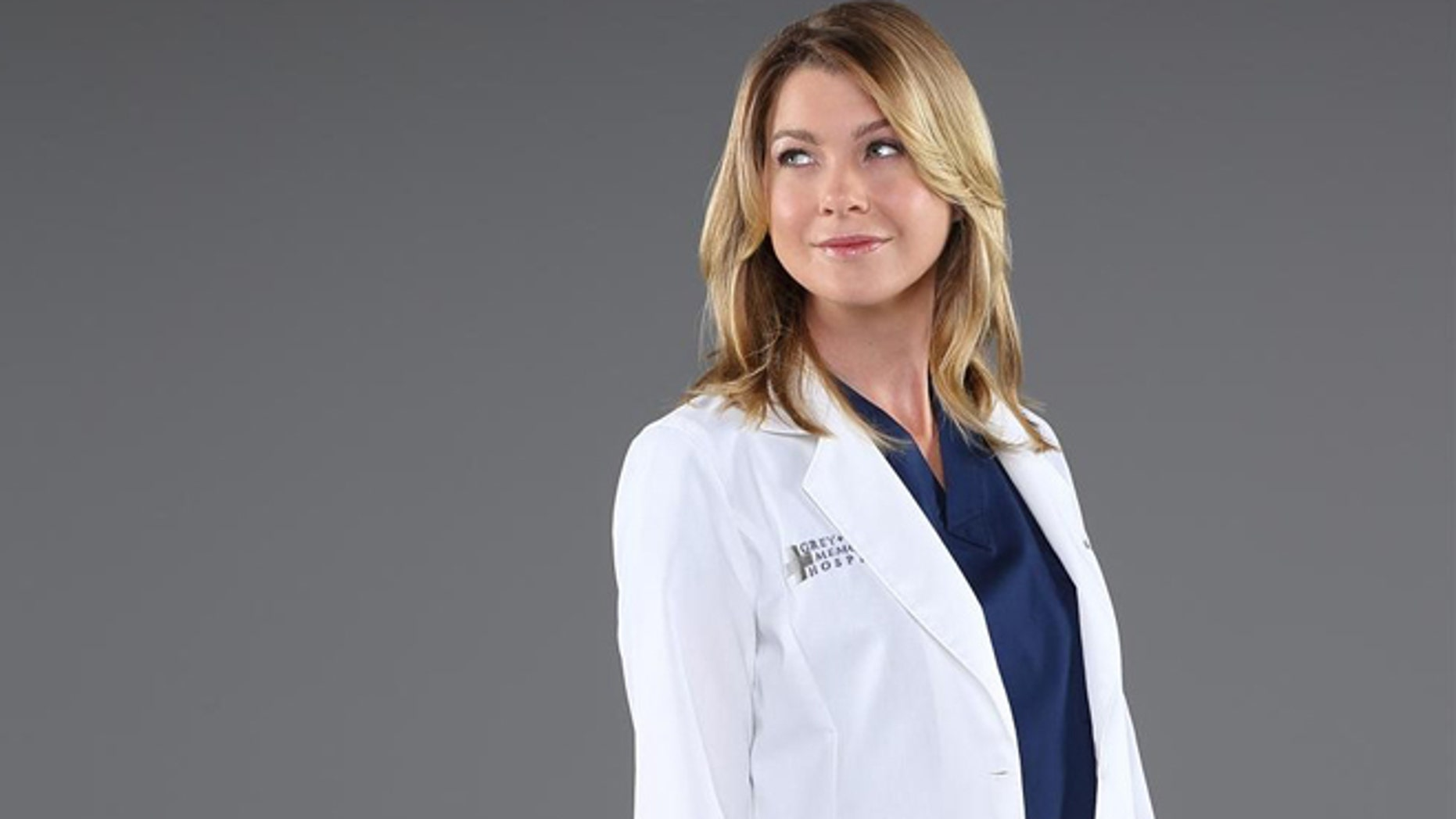 """Grey's Anatomy"" stars Ellen Pompeo as Dr. Meredith Grey."