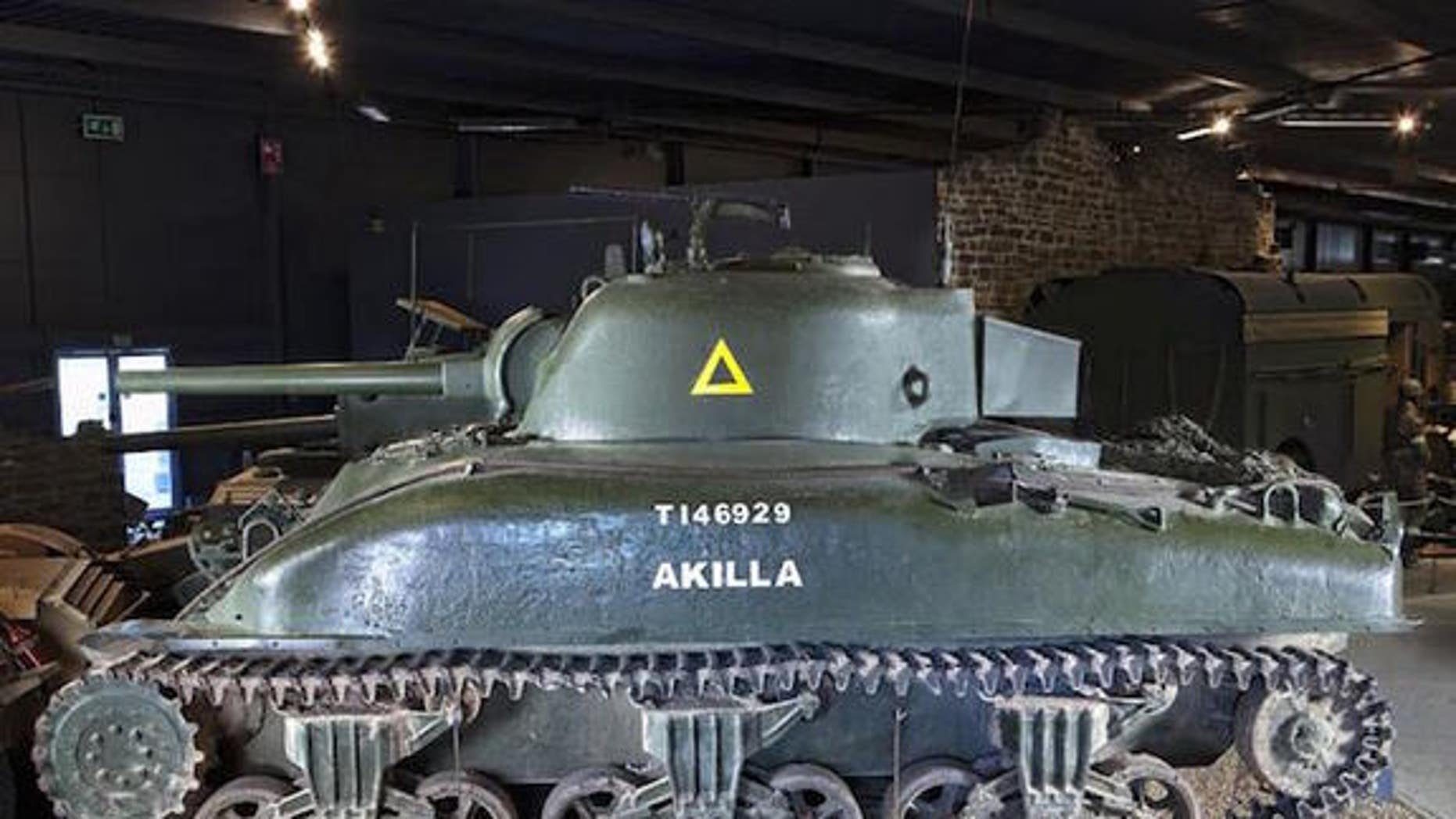 A Canadian variant of the M4 Sherman tank, which was recently sold at auction.