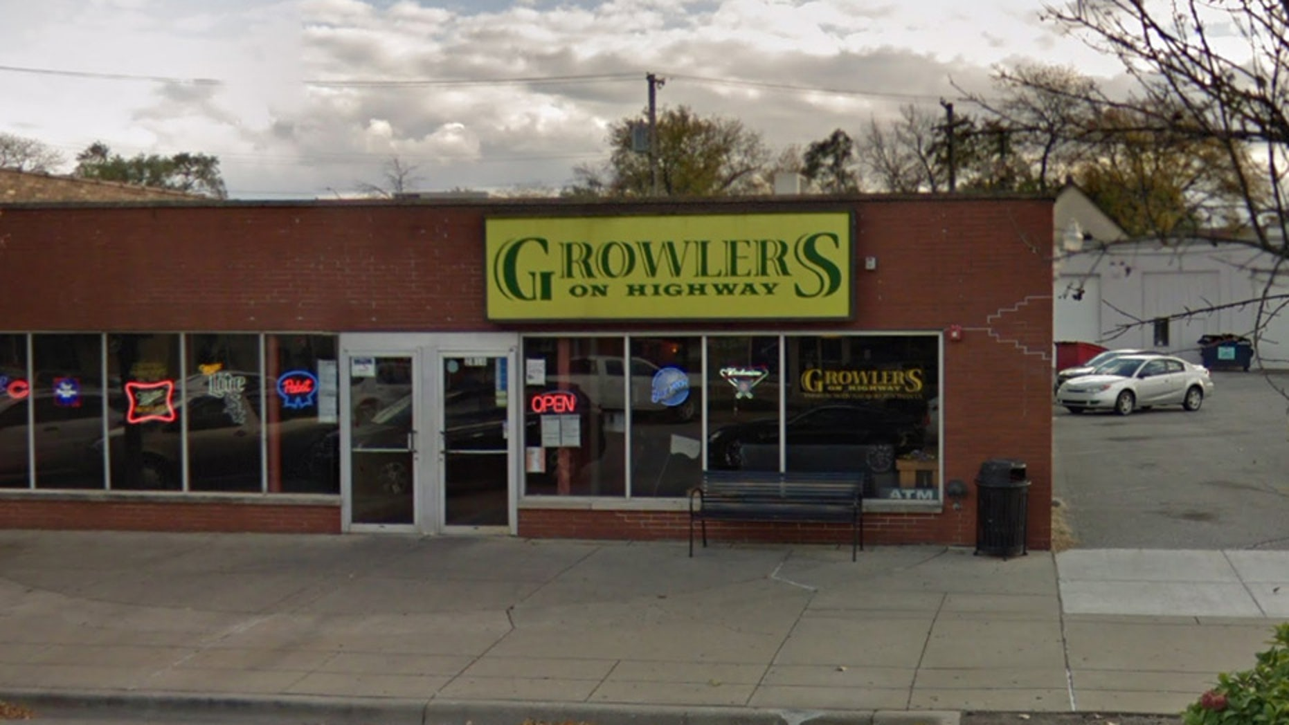 Two off-duty Indiana police officers were shot outside Growlers bar early Saturday in Highland, Ind., authorities said.