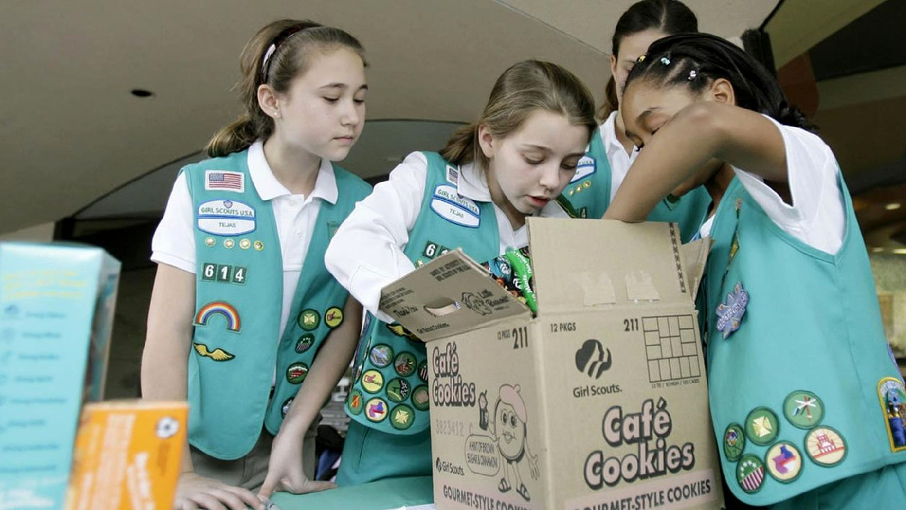 The Girl Scouts announced Thursday that a box of cookies will now go for $5 a pop, an increase of 25 percent from the current $4 a box.