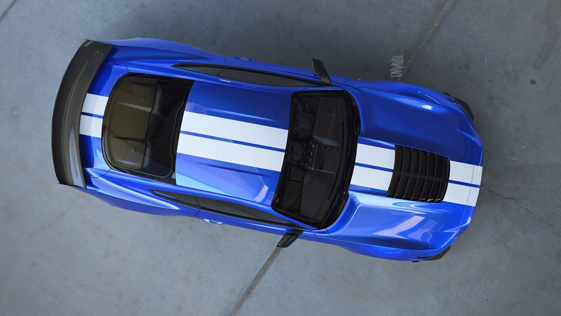 Ford mustang shelby gt500 leaked and dealers told four door mustang is in the works reports say