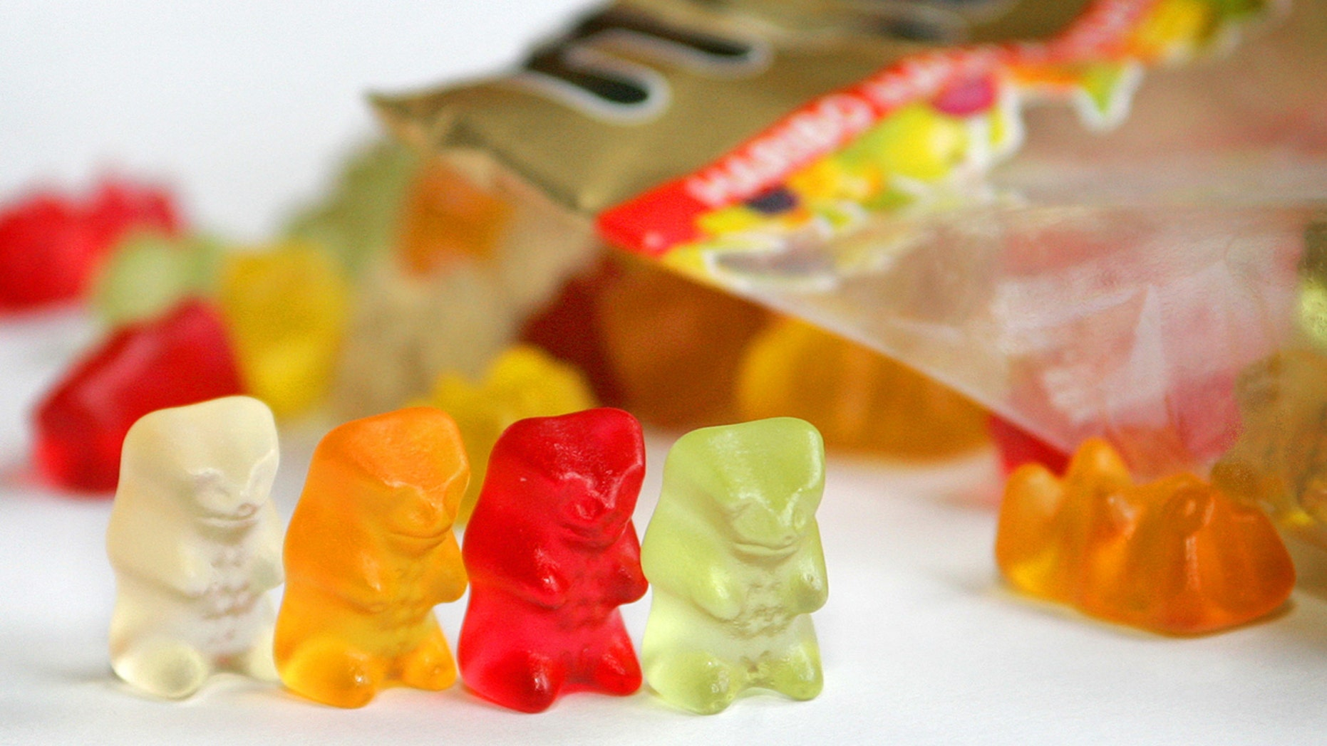 FILE: Pictures shows sweets made by the German manufacturer Haribo.