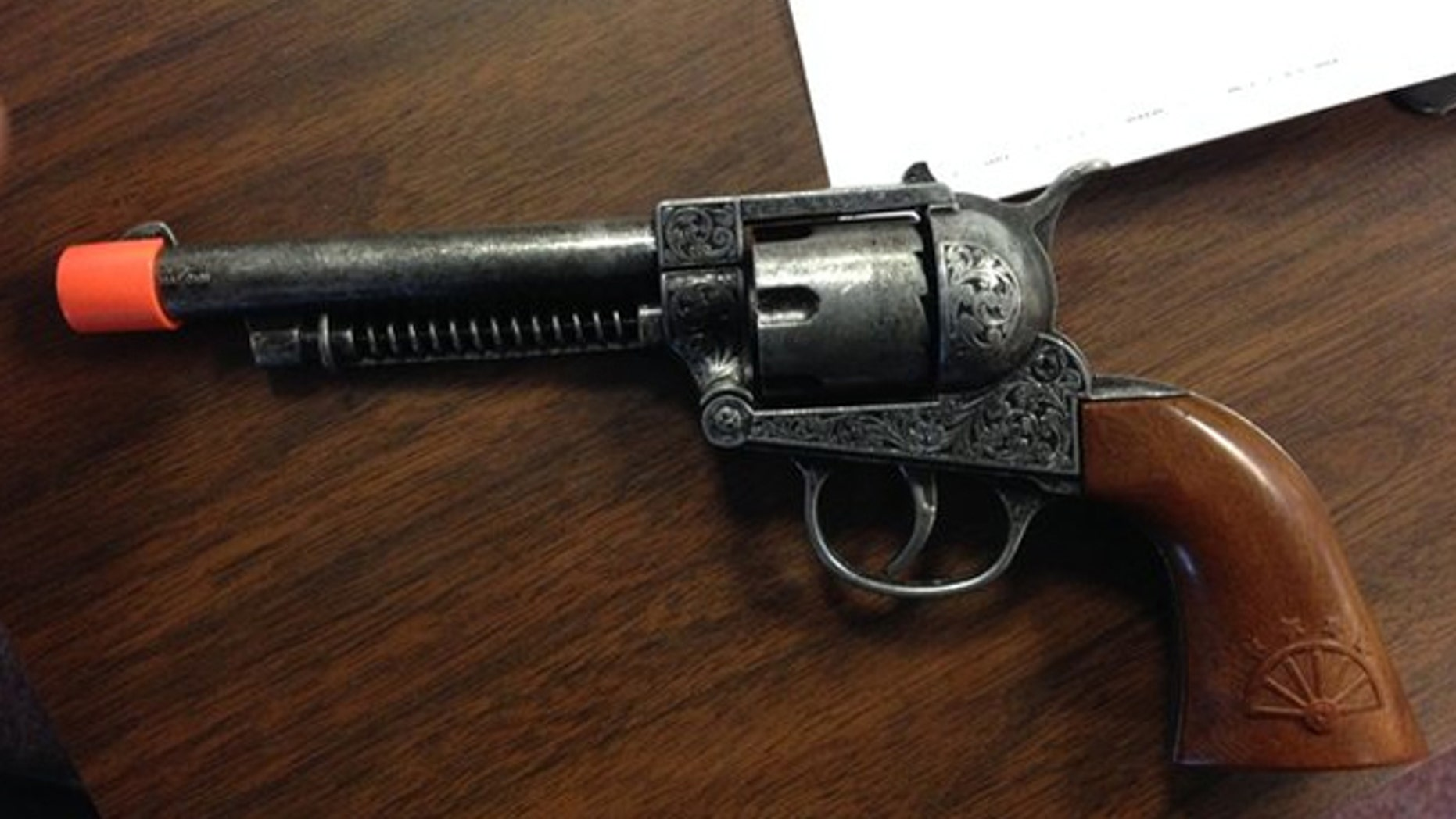 Idaho sheriff deputies located a toy gun found after a second-grade student reported another student had what appeared to be a handgun on a bus.