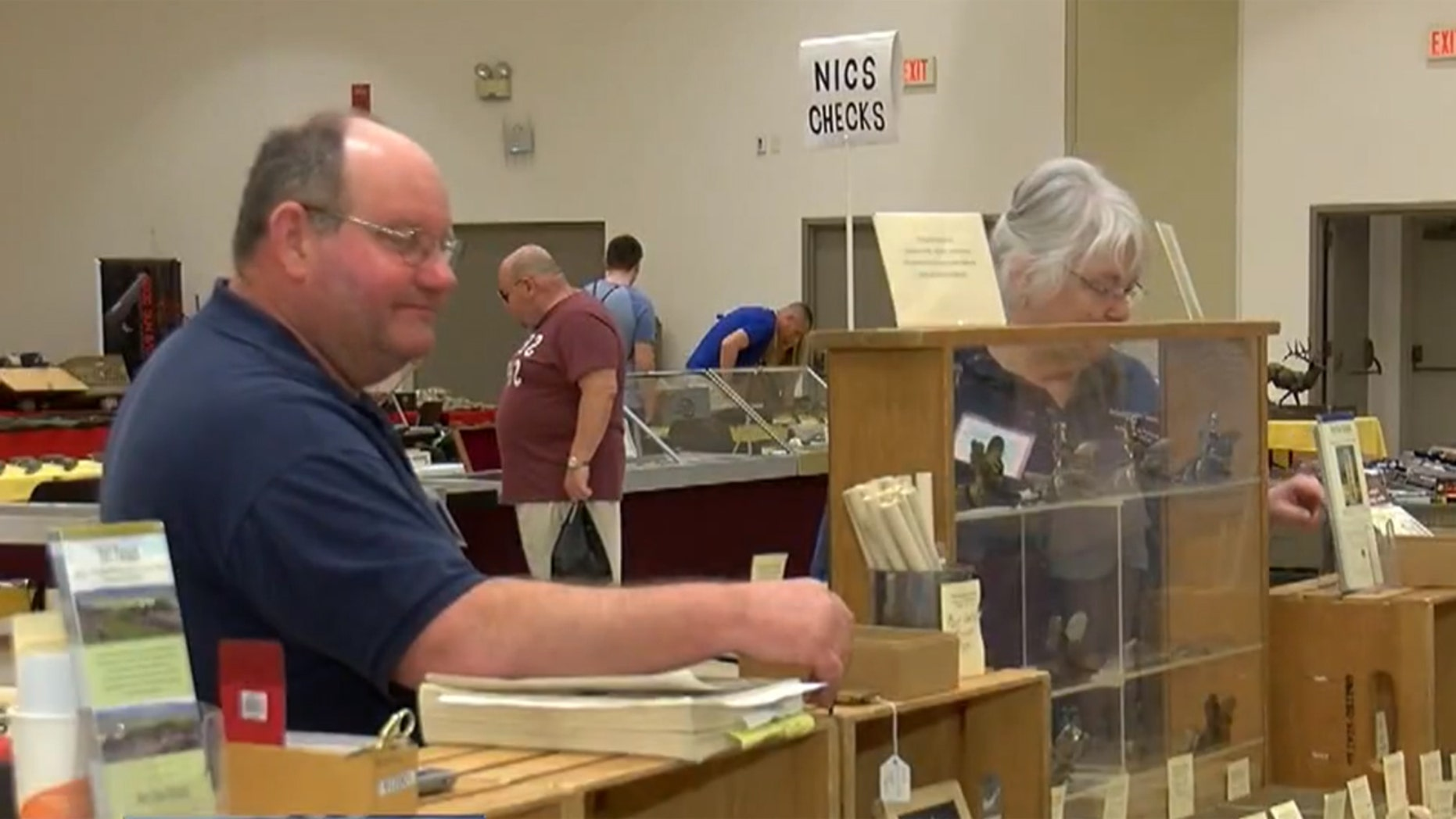 Gun dealer Paul Ackermann said the loss of the gun show in Saratoga Springs will put a 10 percent dent in his business.