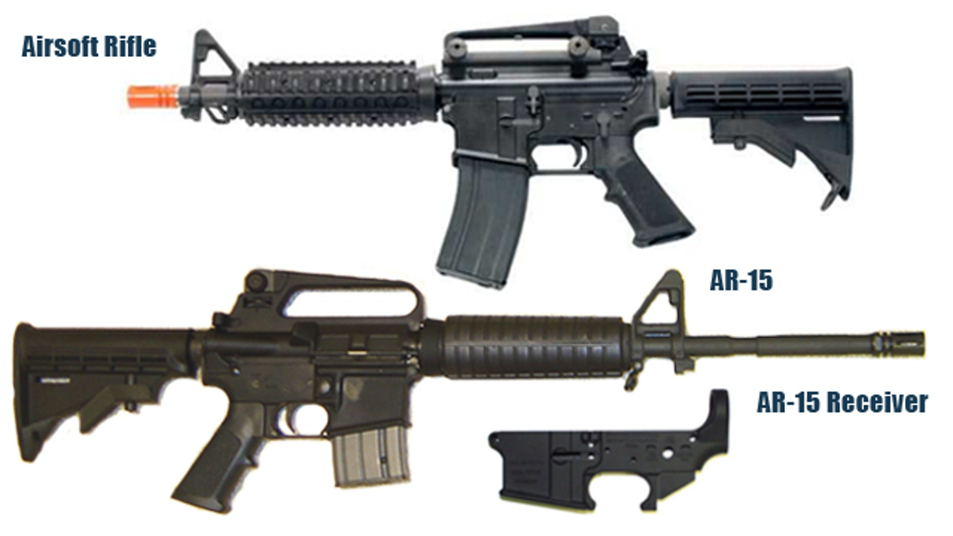 Exclusive Toy Gun Sold In U S Can Easily Be Converted To The Real