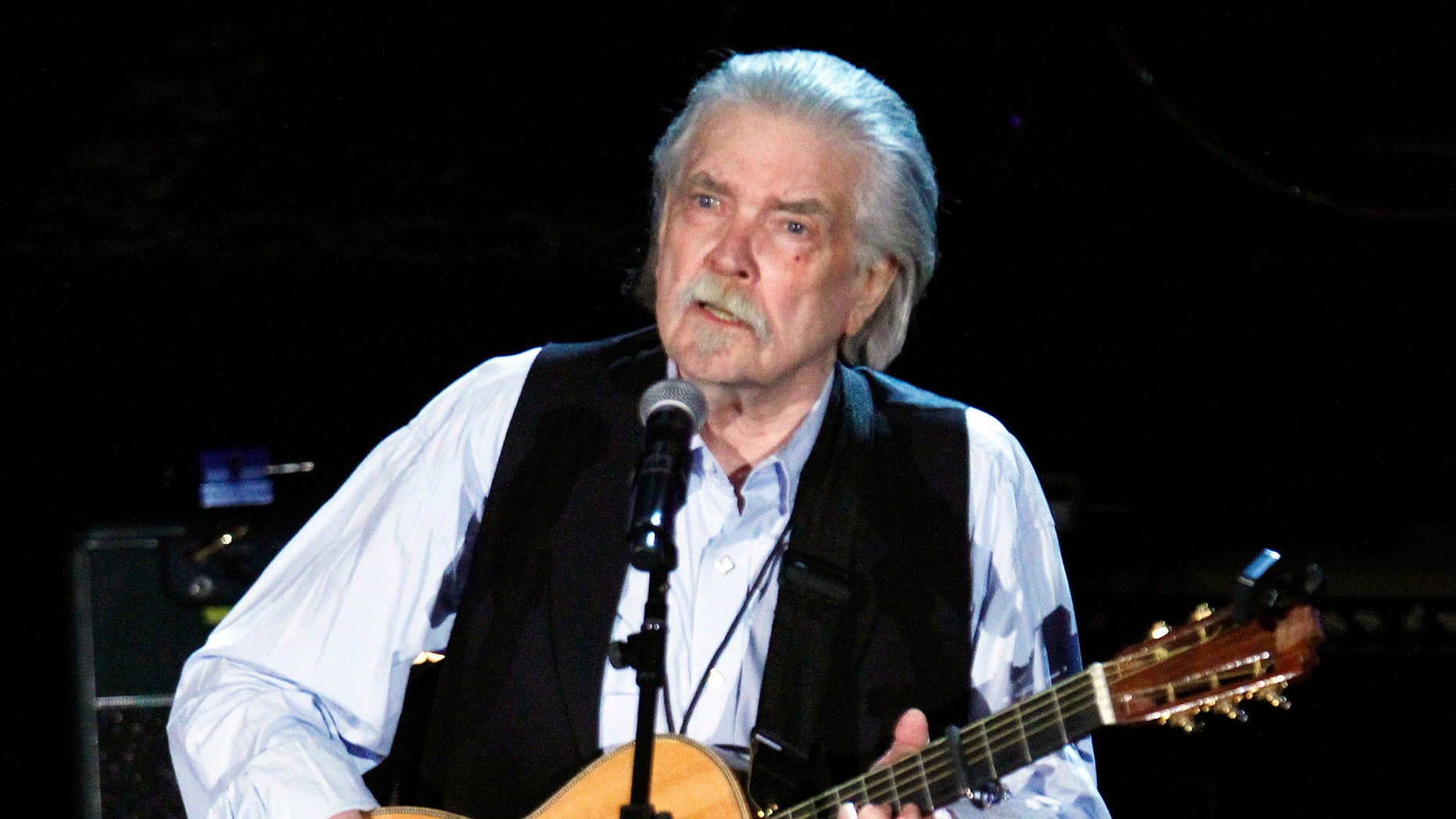 FILE - This Sept. 12, 2012 file photo shows Guy Clark at the 11th annual Americana Honors & Awards in Nashville, Tenn. Clark, died Tuesday, May 17, 2016, at his home in Nashville. He was 74 and had been in poor health, although his manager, Keith Case, did not give an official cause of death.  (Photo by Wade Payne/Invision/AP, File)