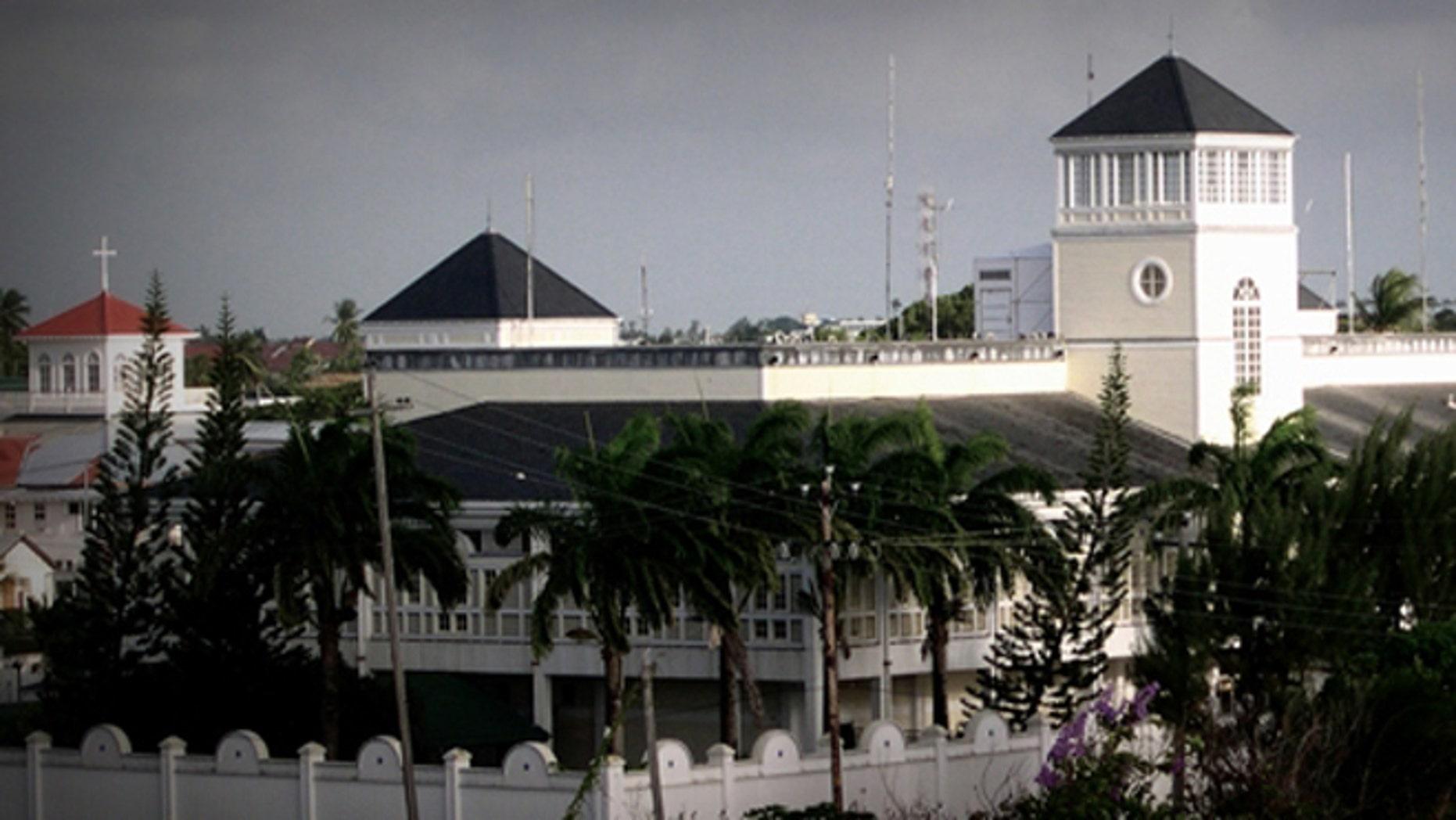 Shown here is the U.S. Embassy in Georgetown, Guyana.