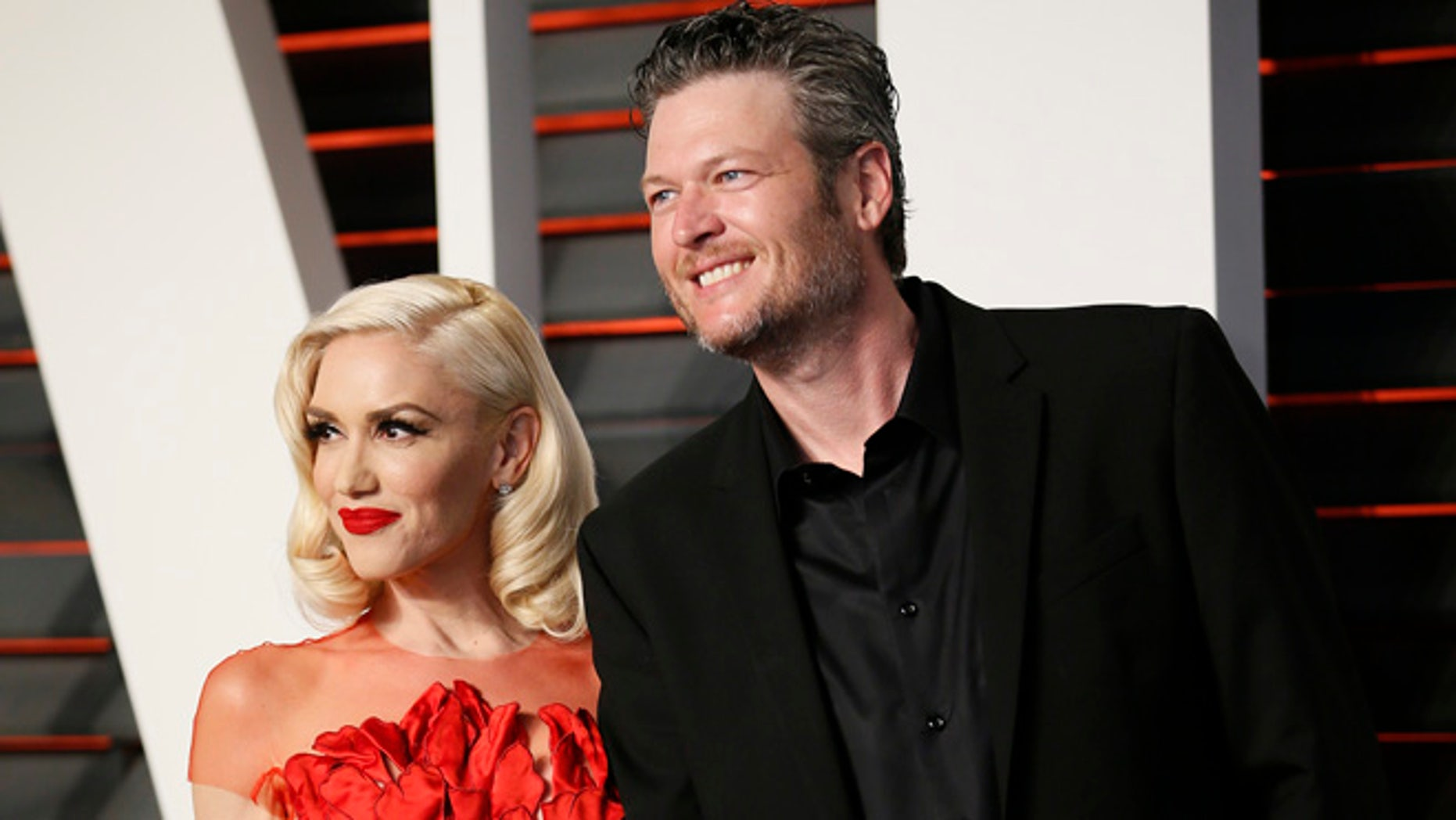 Gwen Stefani and Blake Shelton celebrated Thanksgiving together.