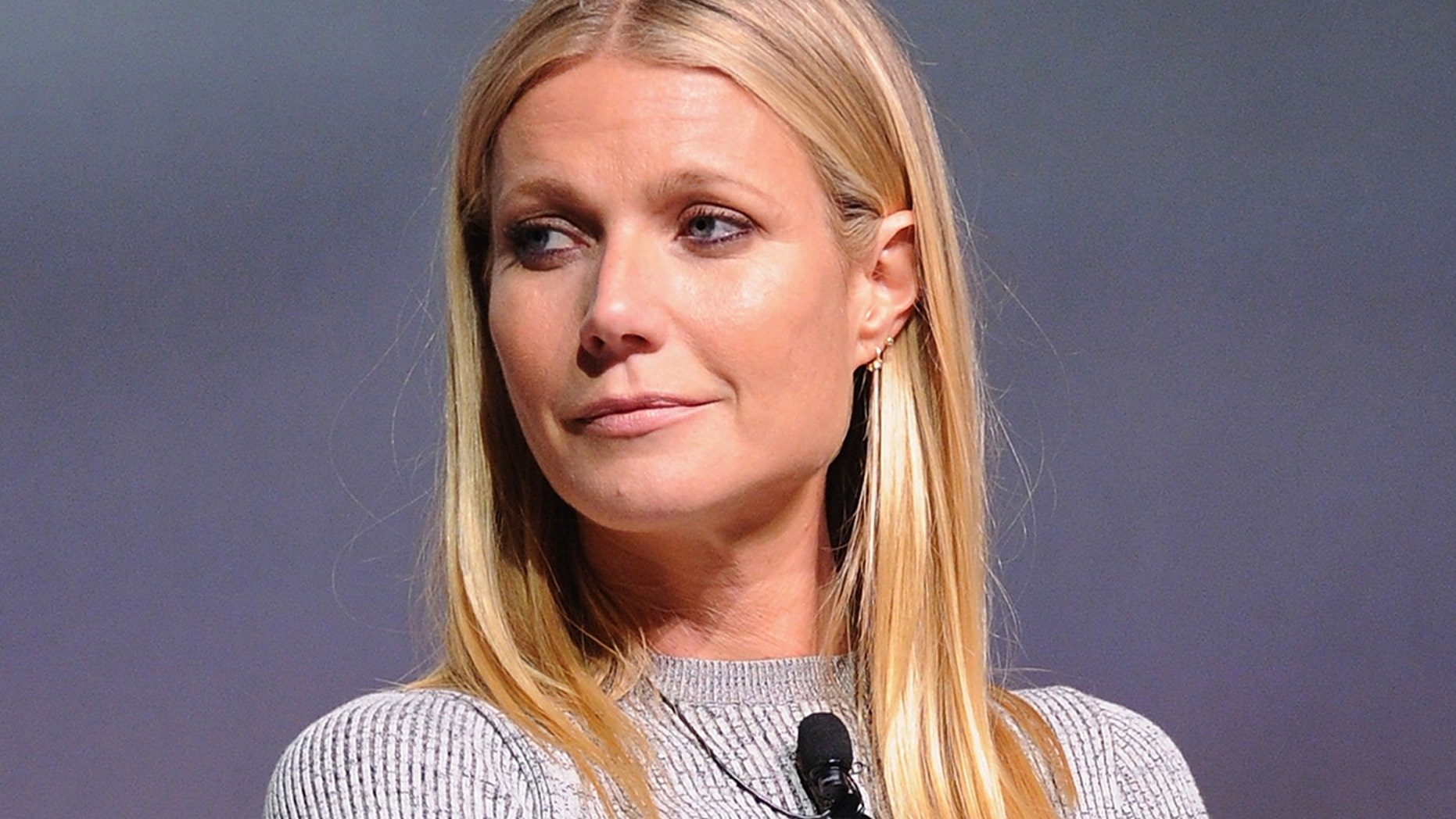 "Actress Gwyneth Paltrow, here in a 2015 file photo, said her company wanted to settle the matter ""quickly and amicably."""