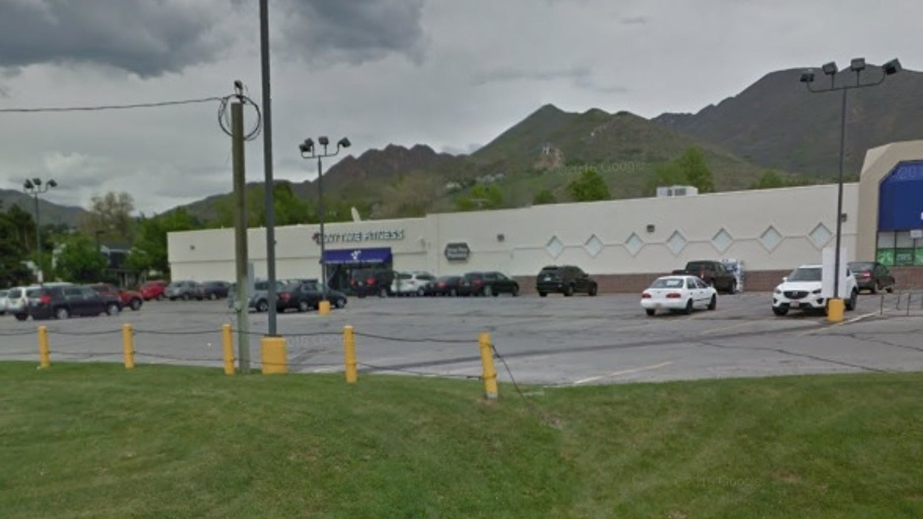 It happened in a parking lot in Salt Lake City, police say.