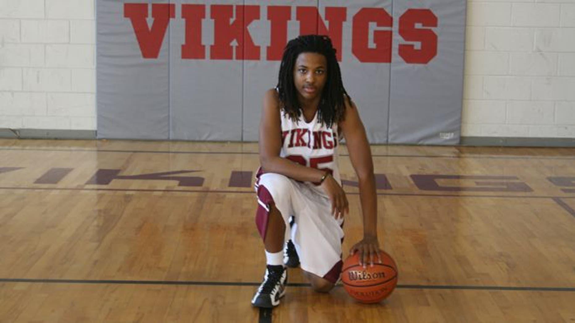 UNDATED: Kendrick Johnson,17, was found dead inside his high school's gym.