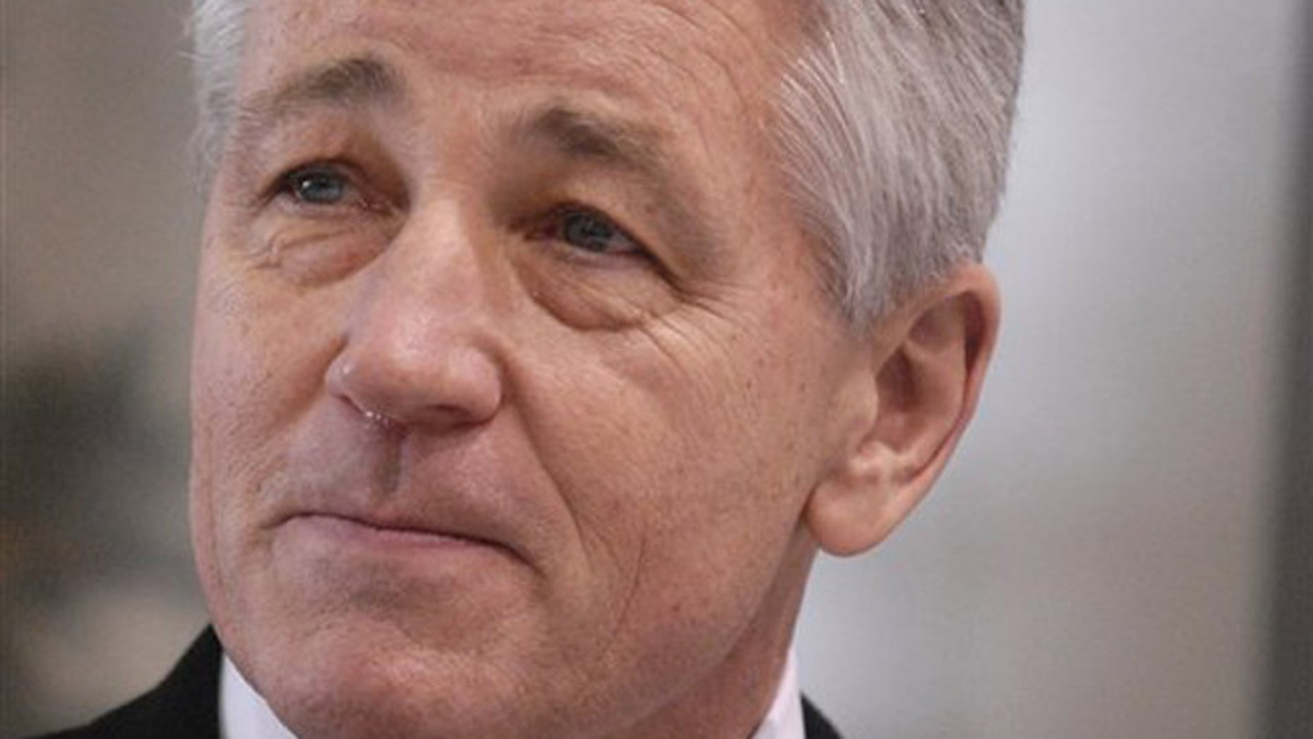 FILE: Undated: then-Nebraska Sen. Chuck Hagel in Omaha, Neb.