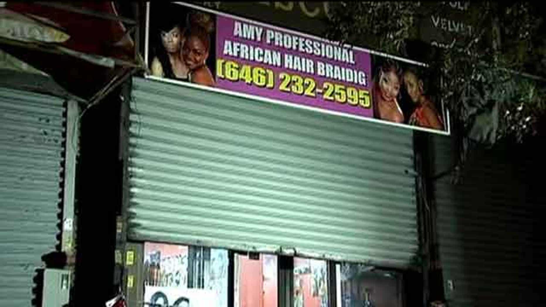 The 40-year-old, whom authorities have identified as a woman, had returned from West Africa 18 days ago when she reportedly keeled over in her chair on Tuesday inside Amy's Professional African Hair Braiding, a Brooklyn hair salon.