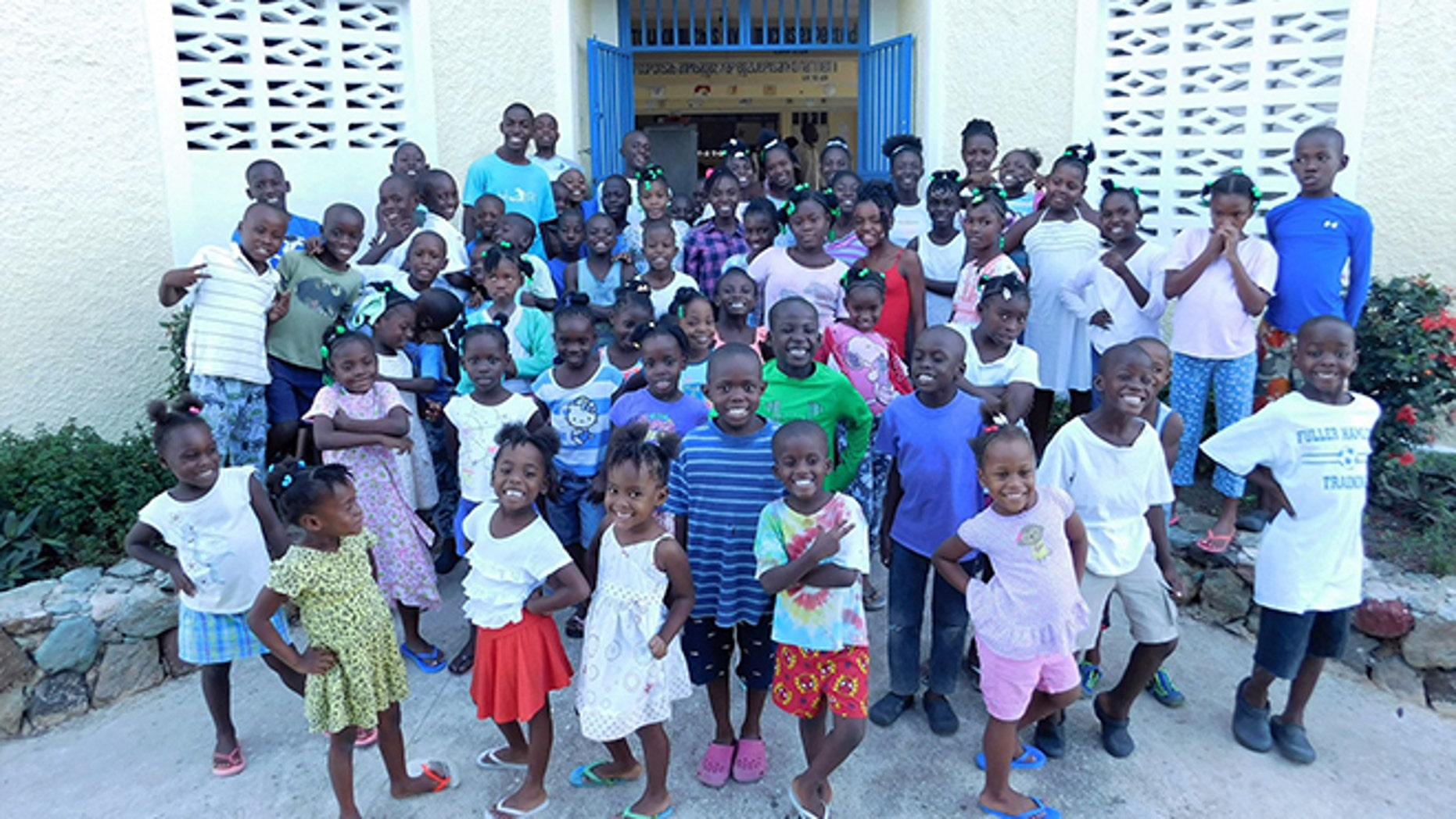 Brit's Home, an orphanage in Haiti.