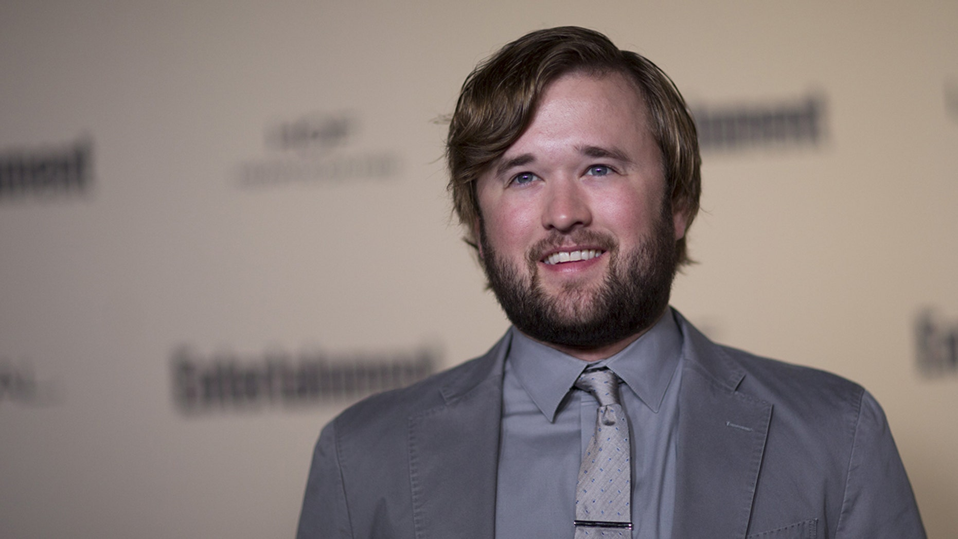 Actor Haley Joel Osment, here in a 2015 file photo, allegedly got feisty with an airport agent and the cops were called.