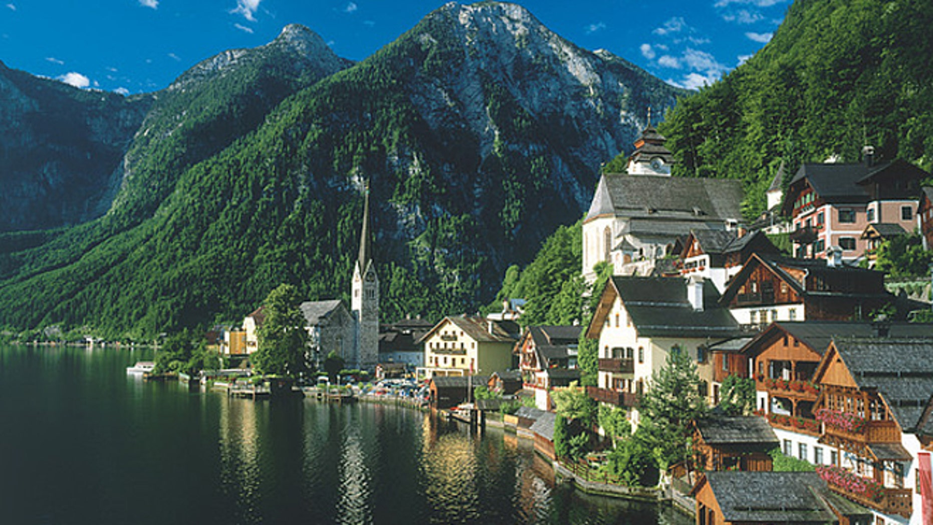 The popular tourist village of Hallstatt, Austria. (Austrian National Tourist Office)
