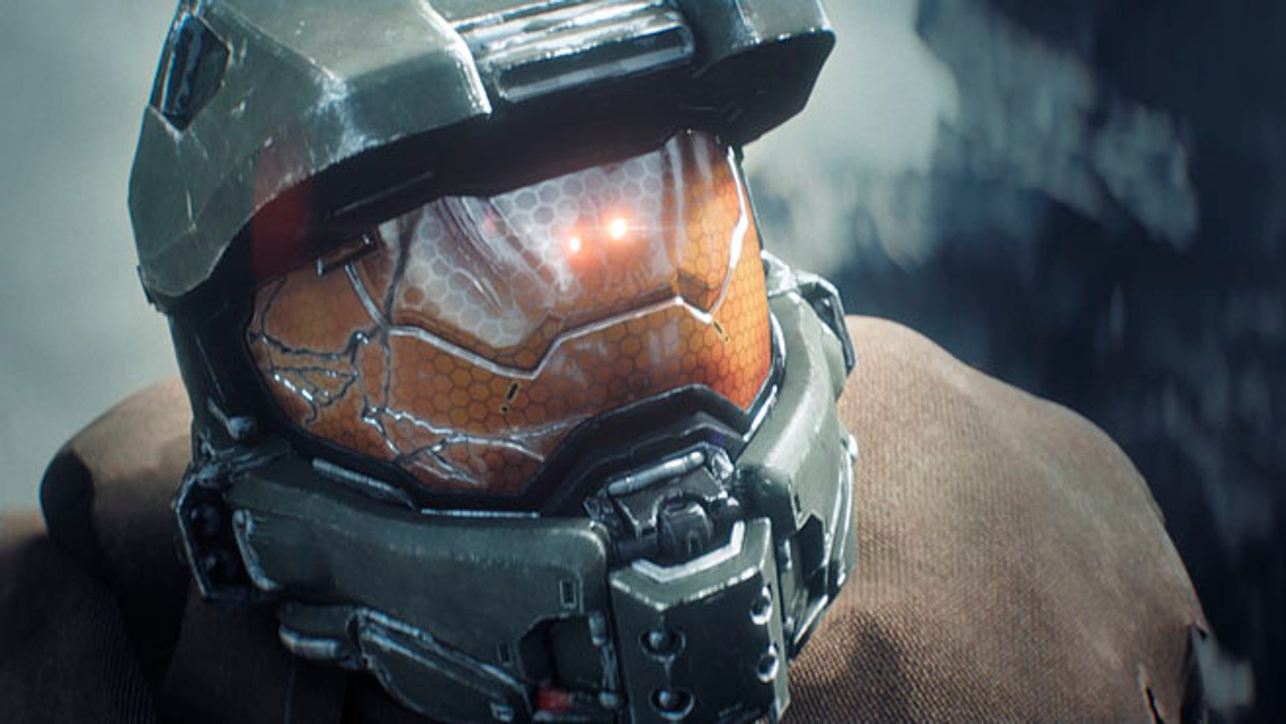 """This file photo provided by Microsoft shows a scene from the """"Halo"""" video game for the Xbox One."""