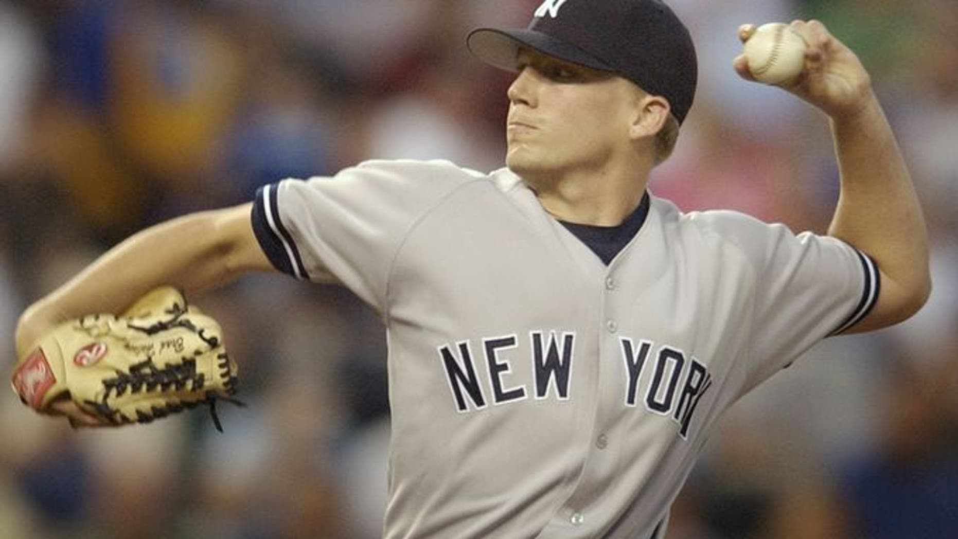 Brad Halsey, 33, was drafted by the Yankees in the eighth round of the 2002 draft. He made his major league debut with the team in 2004. (AP)