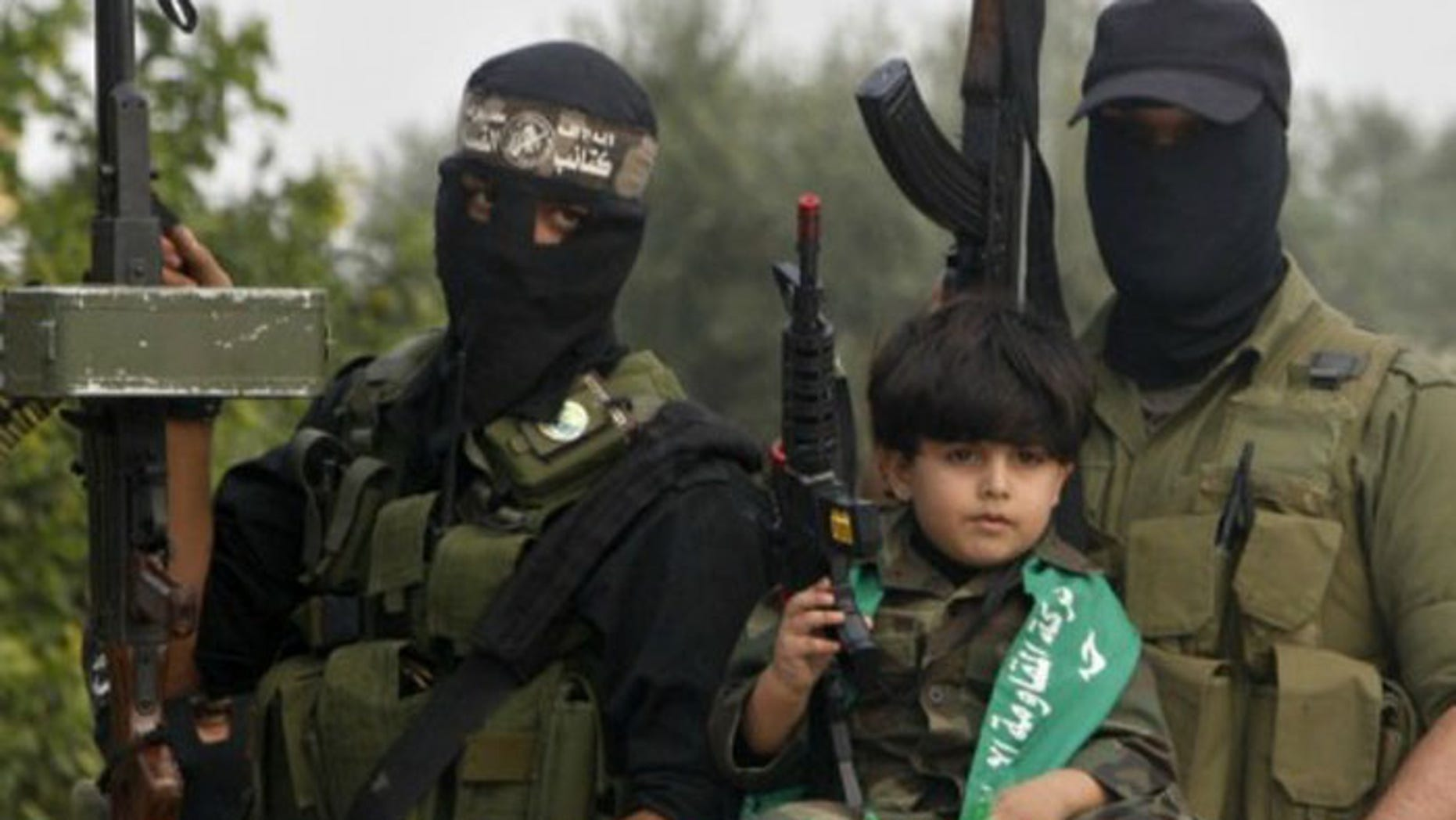 The Israeli group claims that the UN's relief arm works closely with Hamas, which engages in training of child soldiers, in violation of international law. (Reuters)