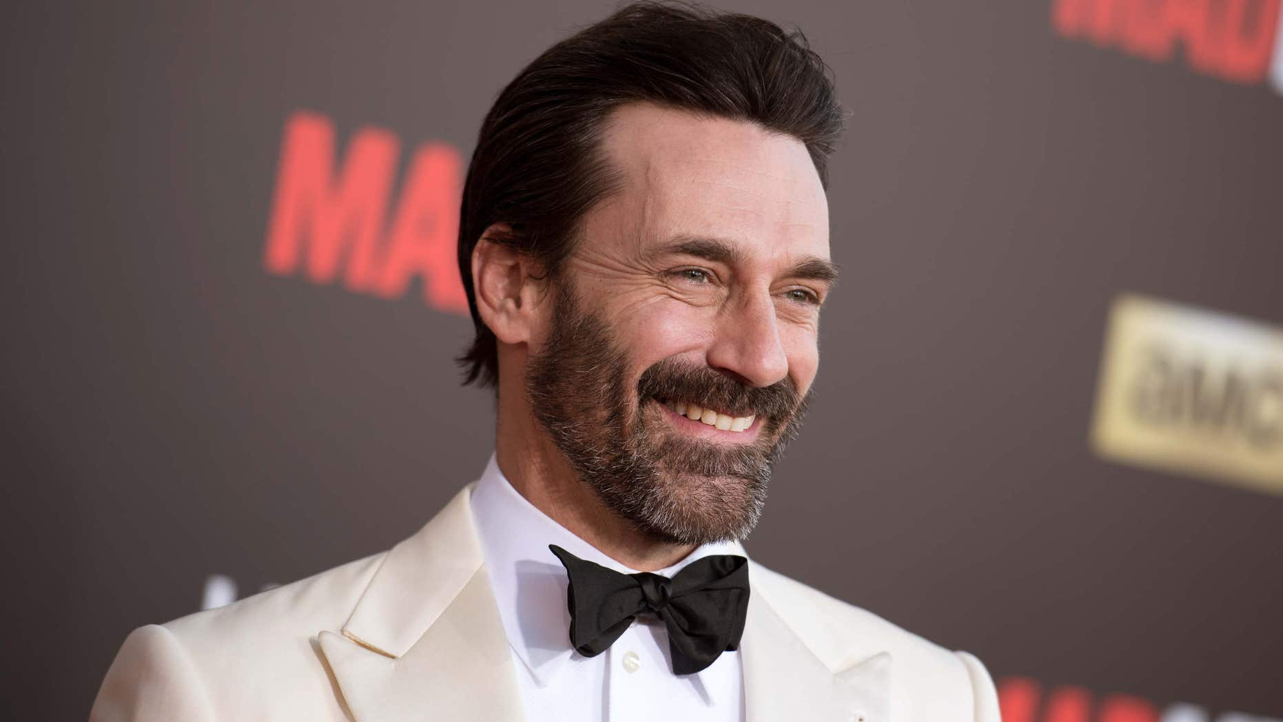 """March 25, 2015: Jon Hamm arrives at The Black And Red Ball In Celebration Of The Final Seven Episodes Of """"Mad Men"""" in Los Angeles."""