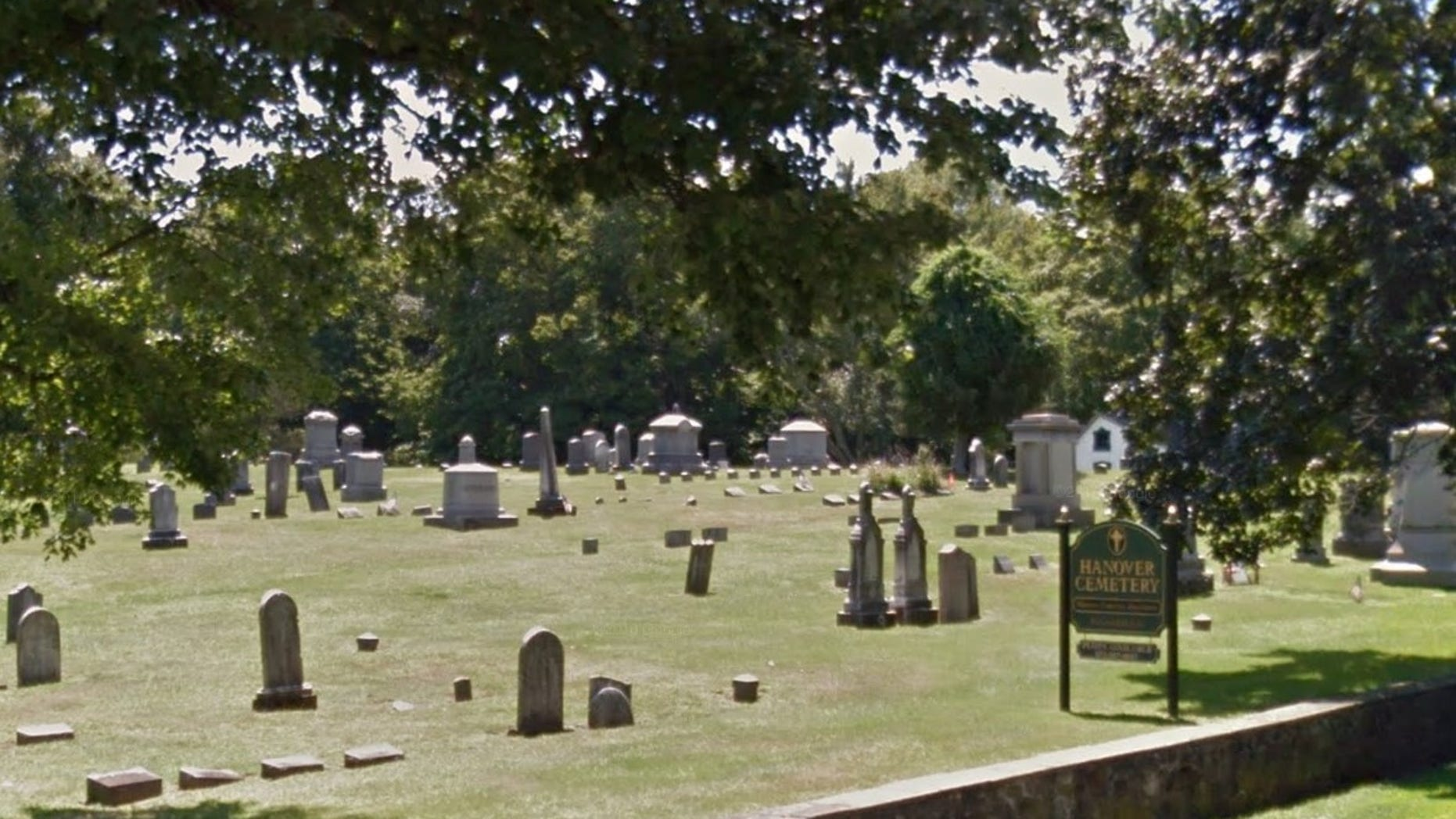 New Jersey cemetery worker pinned in grave after concrete