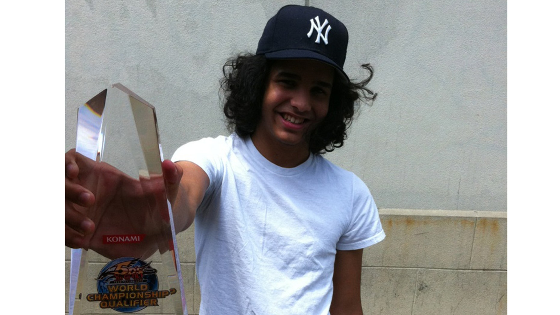 Hansel Aguero is representing the U.S. in the Yu-Gi-Oh! World Championship in Amsterdam.