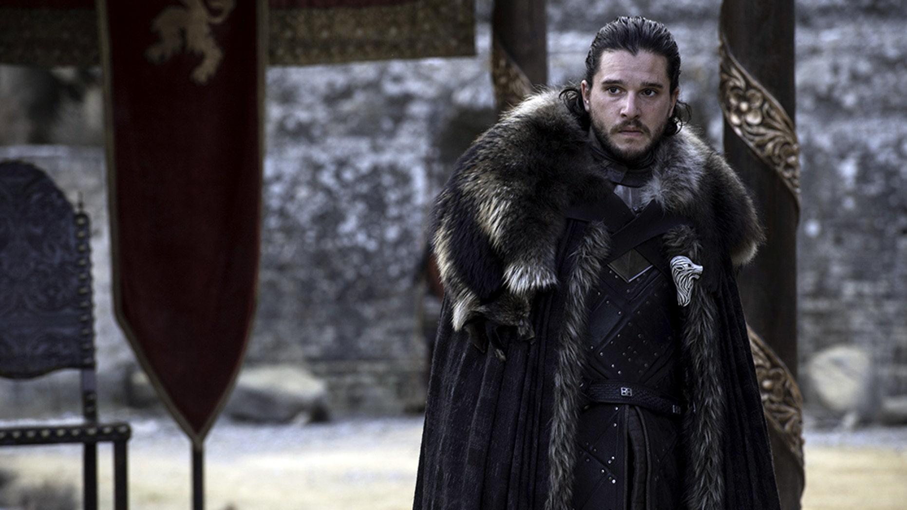 "Equipment Harington stars as Jon Snow on the HBO hit series ""Game of Thrones."""