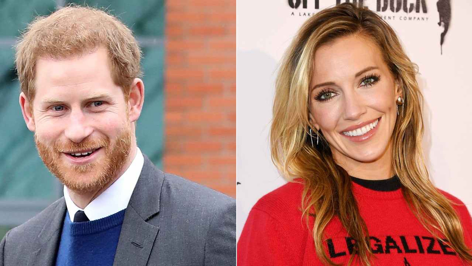 Prince Harry and actress Katie Cassidy almost hung out in Miami during a 2014 vacation.