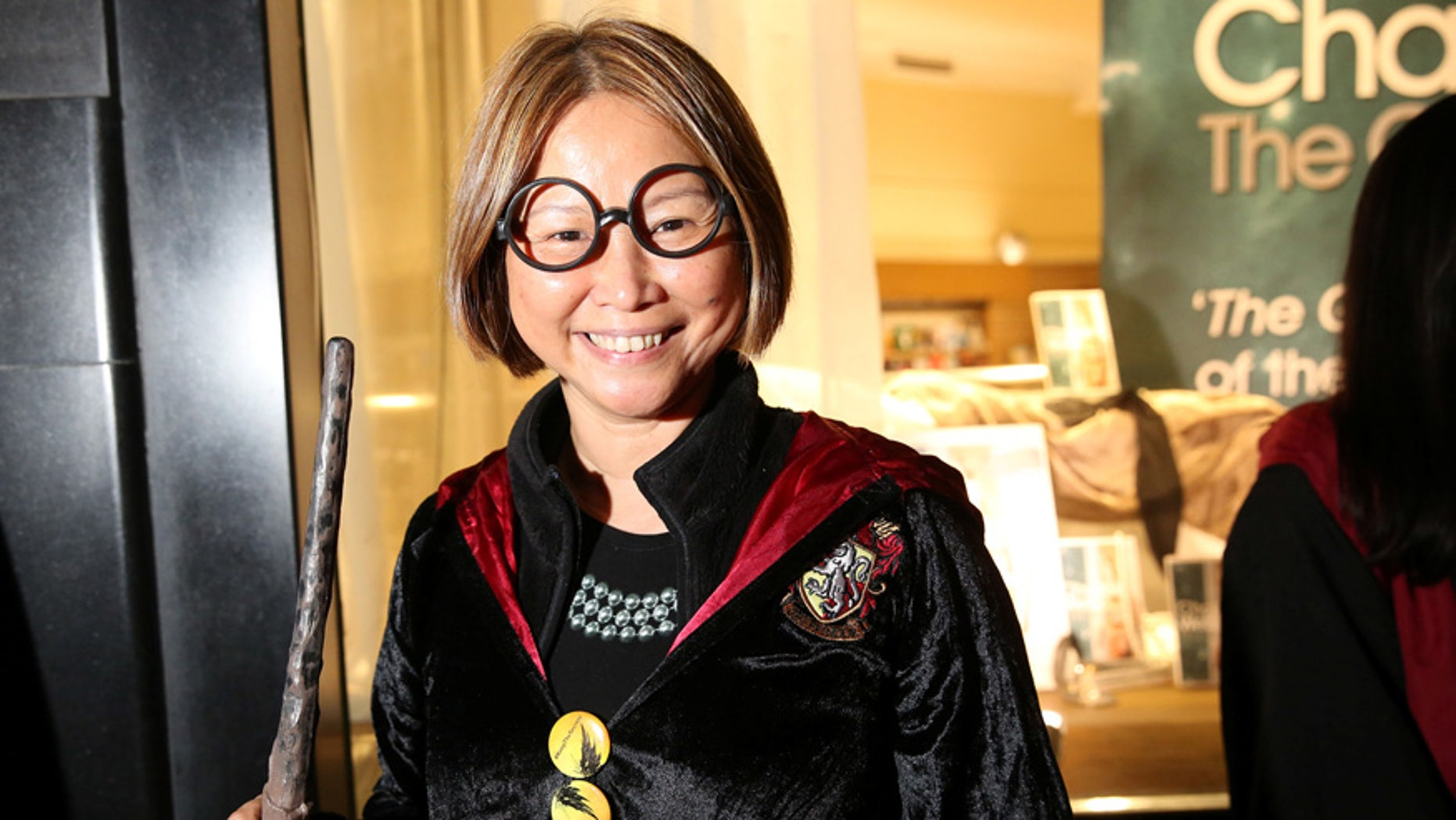 """A fan lines up at the release event for """"Harry Potter and the Cursed Child"""" at a bookstore in London on July 30, 2016."""