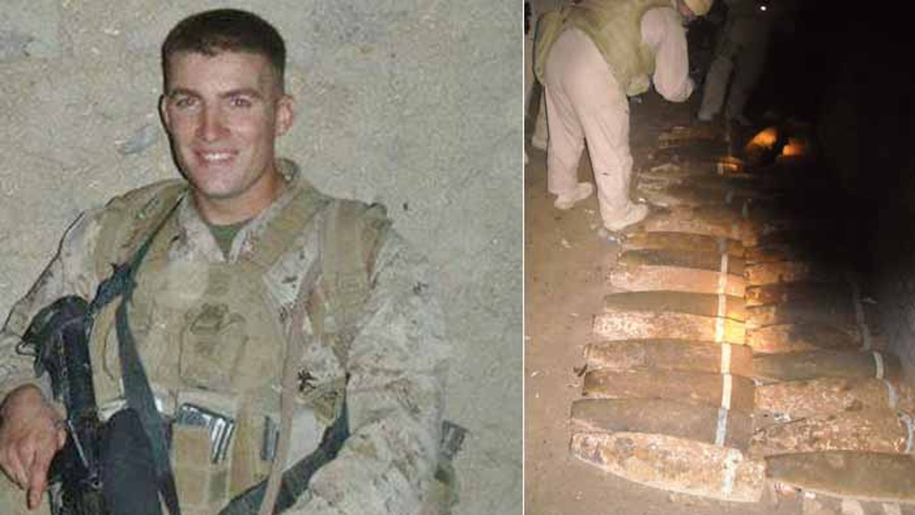 Former Marine Joshua Hartley believes a secret bunker in Iraq held chemical and biological weapons told FoxNews.com in October that his platoon found unspent shells that he said contained chemical weapons.