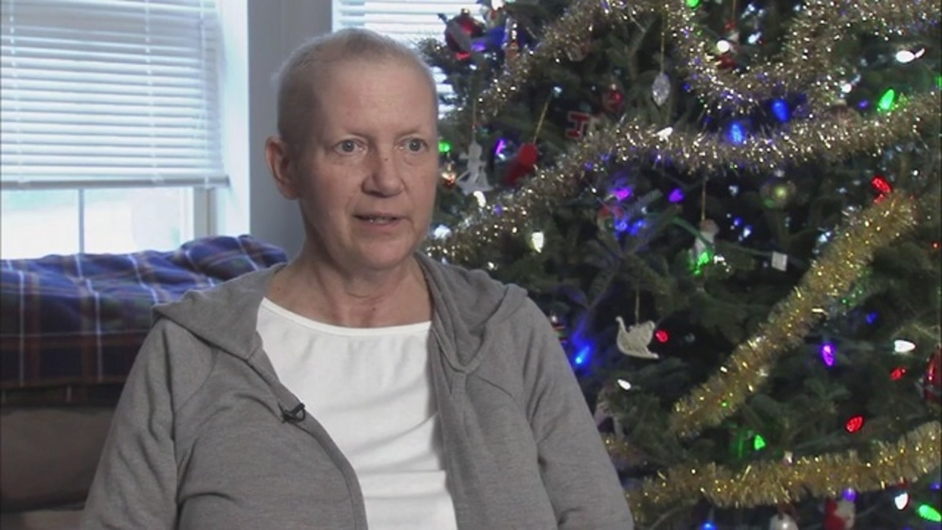 Mary Jo Hartman, 56, has vowed to spend her final days volunteering.