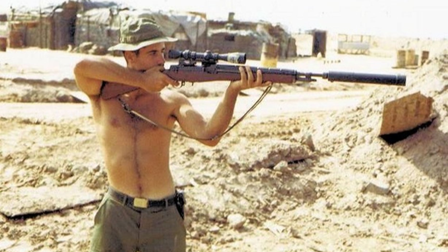 Gunnery Sgt. Carlos Hathcock. (US Marine Corps Archives)