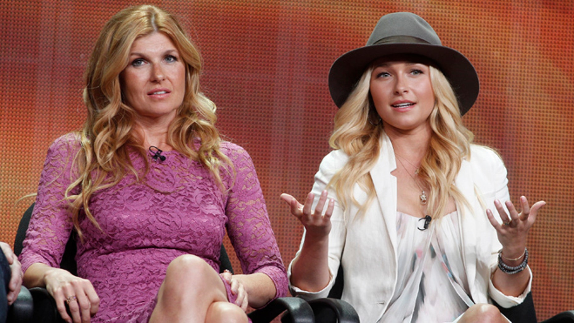 "Hayden Panettiere discussed Connie Britton's exit from ""Nashville."""