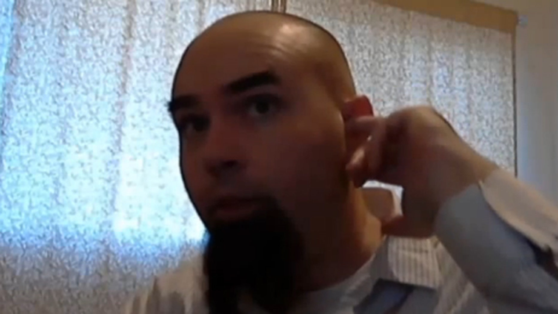 Nevada man Rich Lee has had small magnets implanted just outside of his ears. By wearing a coil around his neck and attaching it to his phone, he is able to listen to music without headphones.