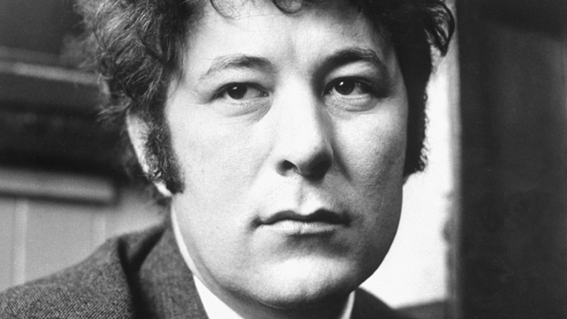 Seamus Heaney, seen here in 1970, was Ireland's foremost poet who won the Nobel literature prize in 1995. He died Friday after a half-century exploring the wild beauty of Ireland and the political torment within the nation's soul. He was 74. (AP/PA file)