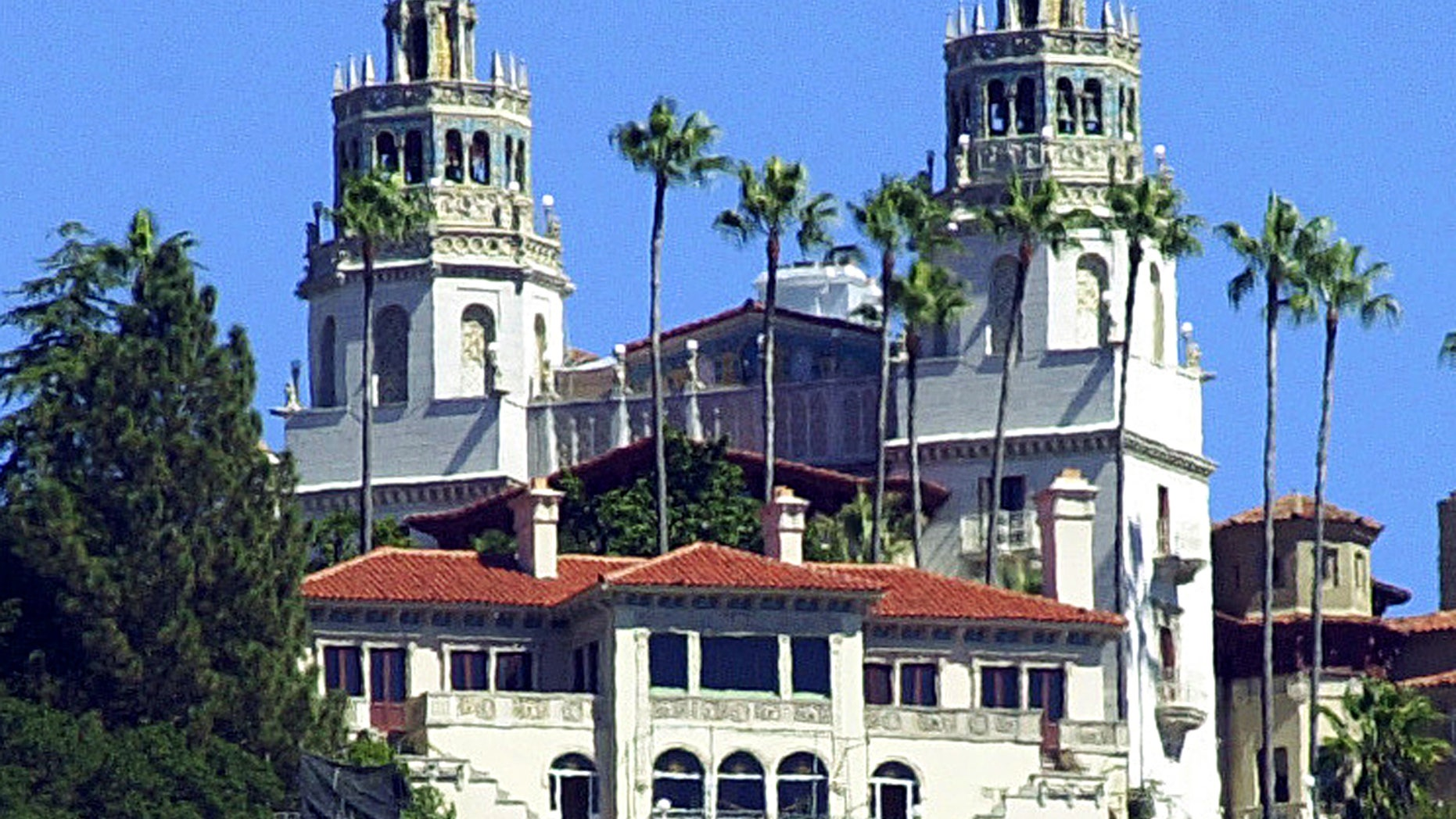 Sept. 28, 2001.The Enchanted Hill, the legendary home now best known as Hearst Castle, built by publishing tycoon William Randolph Hearst in San Simeon, Calif.