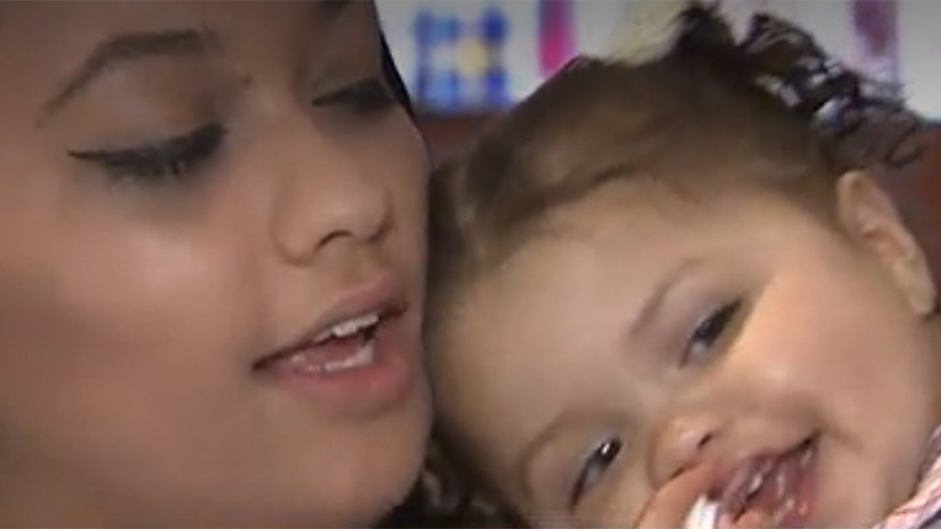 Avery Custodio, now nearly 18 months, was fitted with the world's tiniest mechanical heart valve.