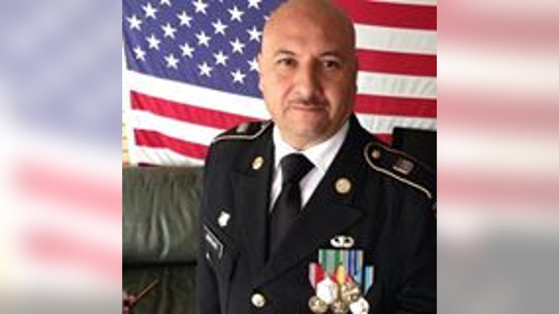 Deported U.S. Army veteran Hector Barajas, pardoned by California's governor, was expected to become a U.S. citizen, April 13, 2018.