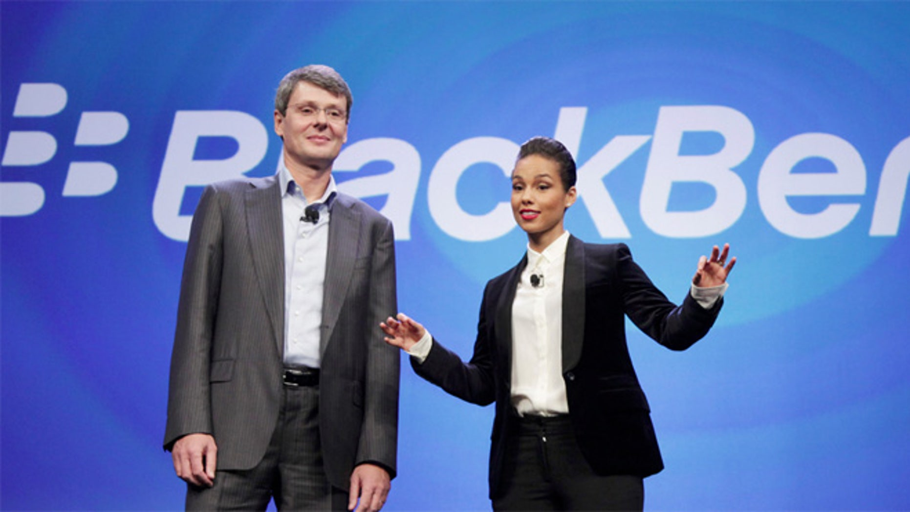 Is BlackBerry cooler than iPhone now? CEO Thorsten Heins thinks so.